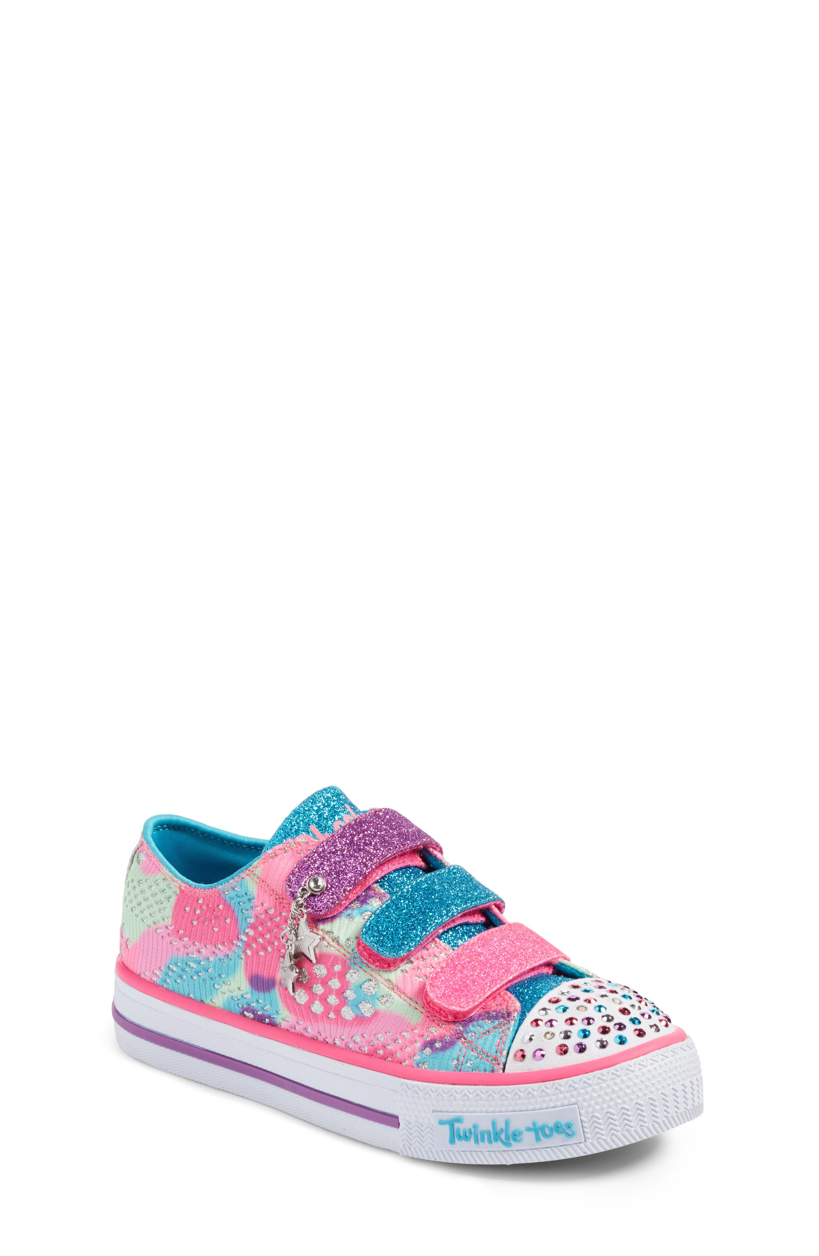SKECHERS Twinkle Toes Shuffles Light-Up Sneaker (Toddler & Little Kid)