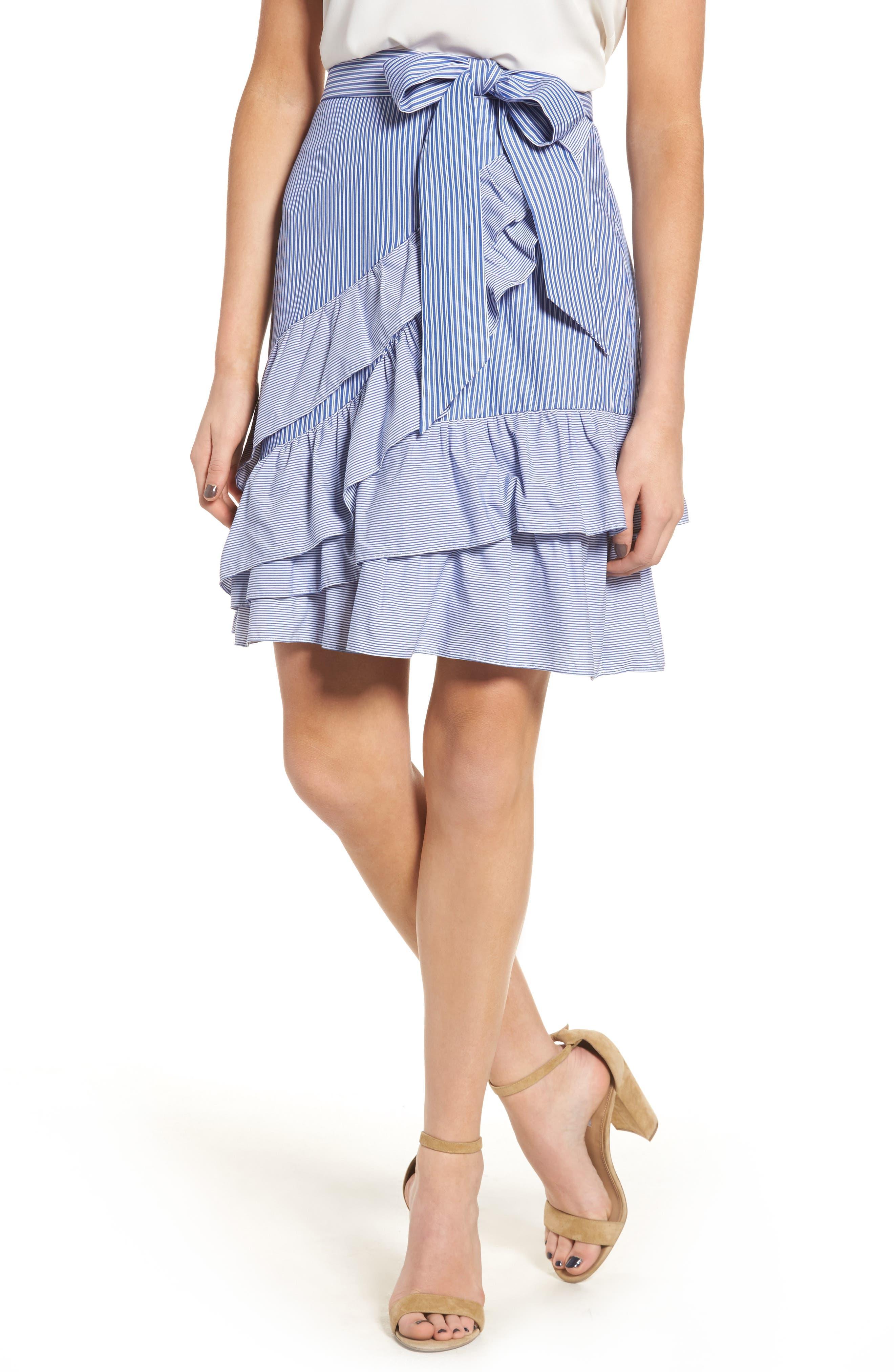 Parker Lambert Wrap Skirt