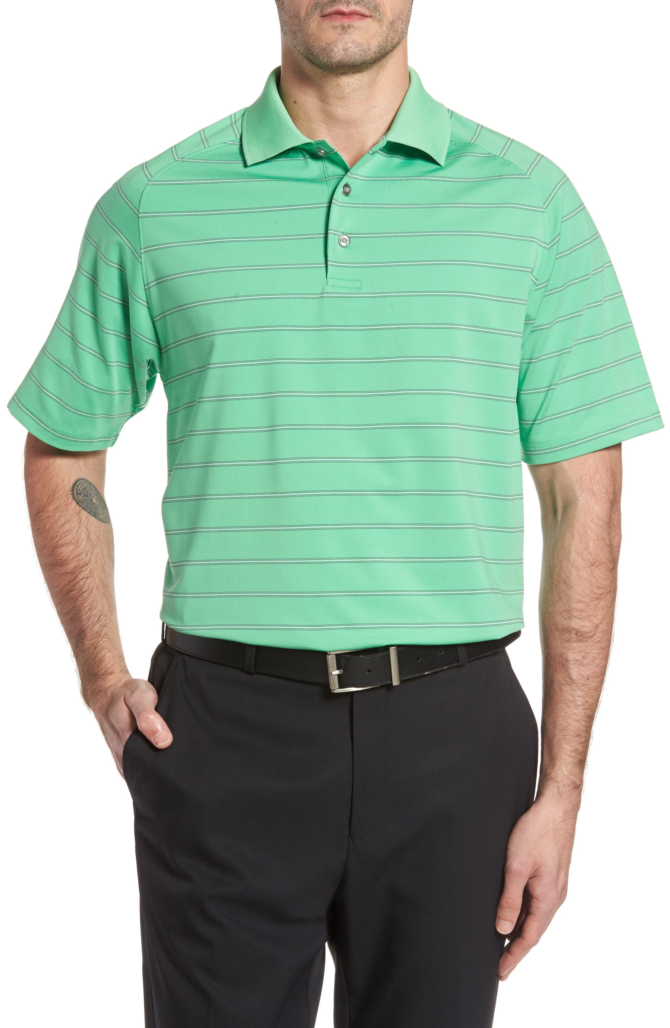 SWC Raglan Stripe Jersey Polo