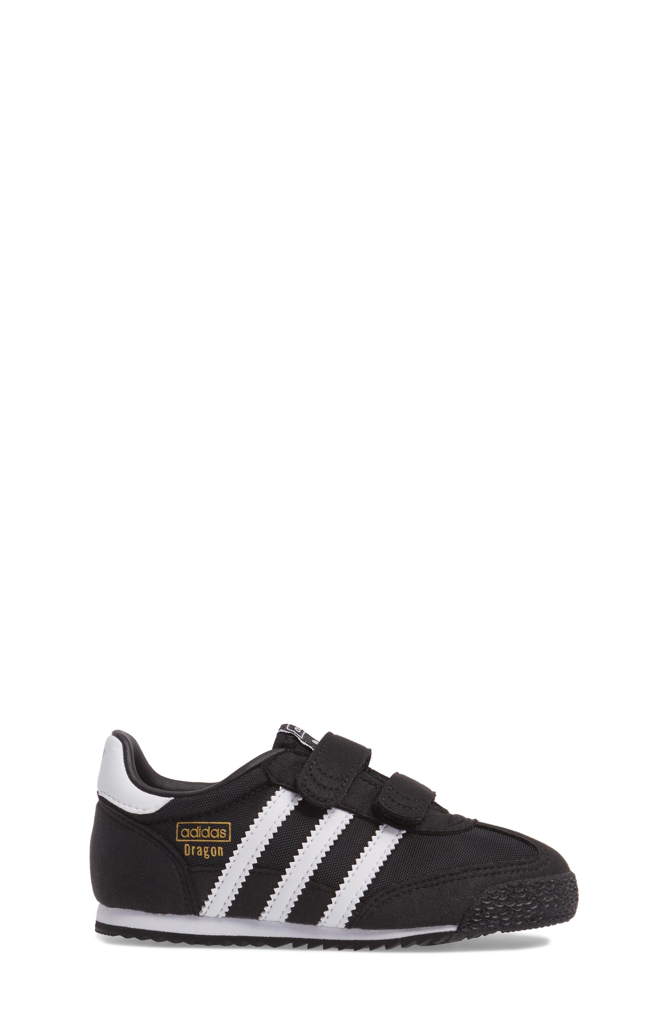 Alternate Image 3  - adidas Dragon OG CF Athletic Shoe (Baby, Walker & Toddler)