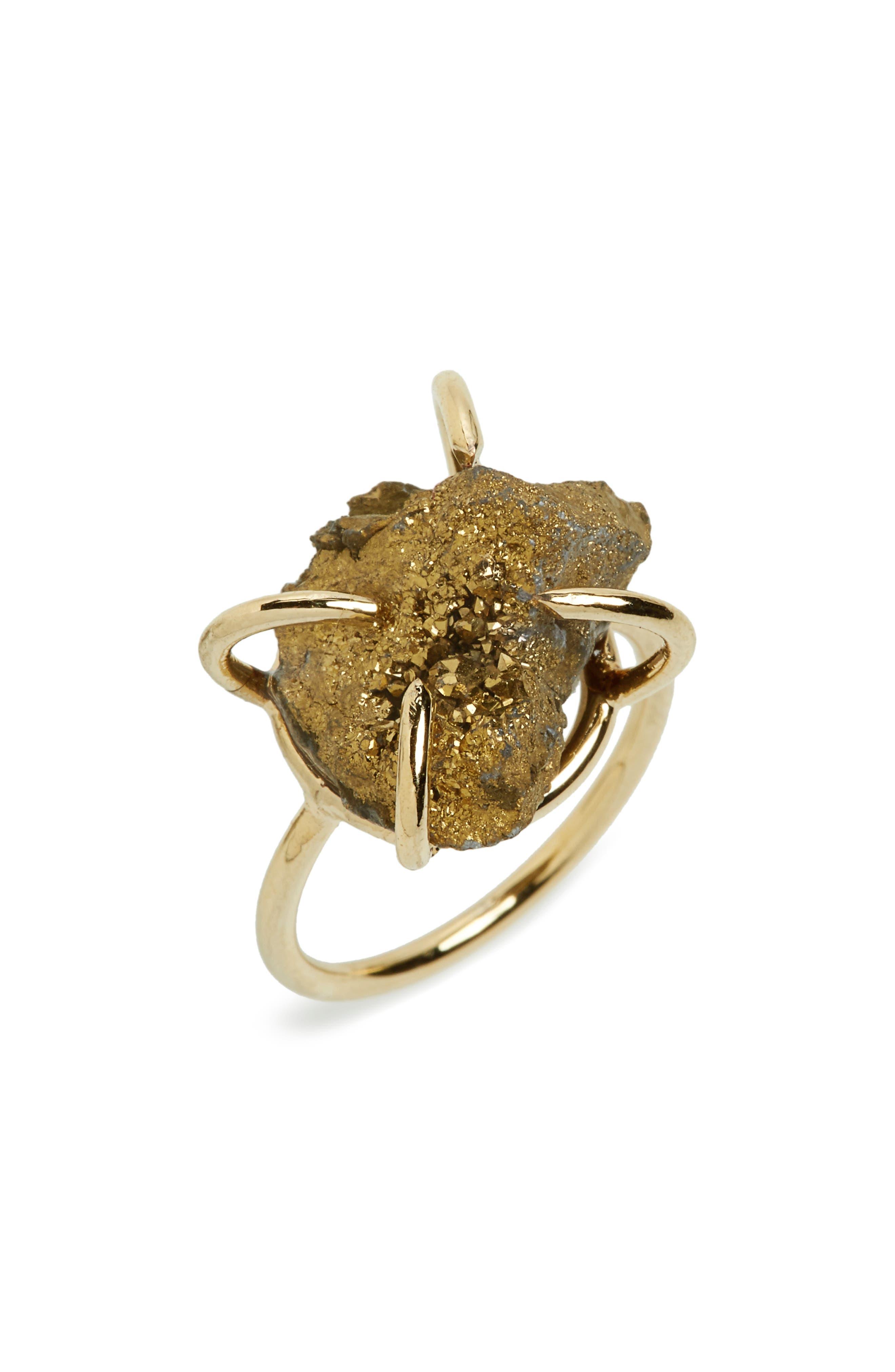 Panacea Drusy Stone Ring