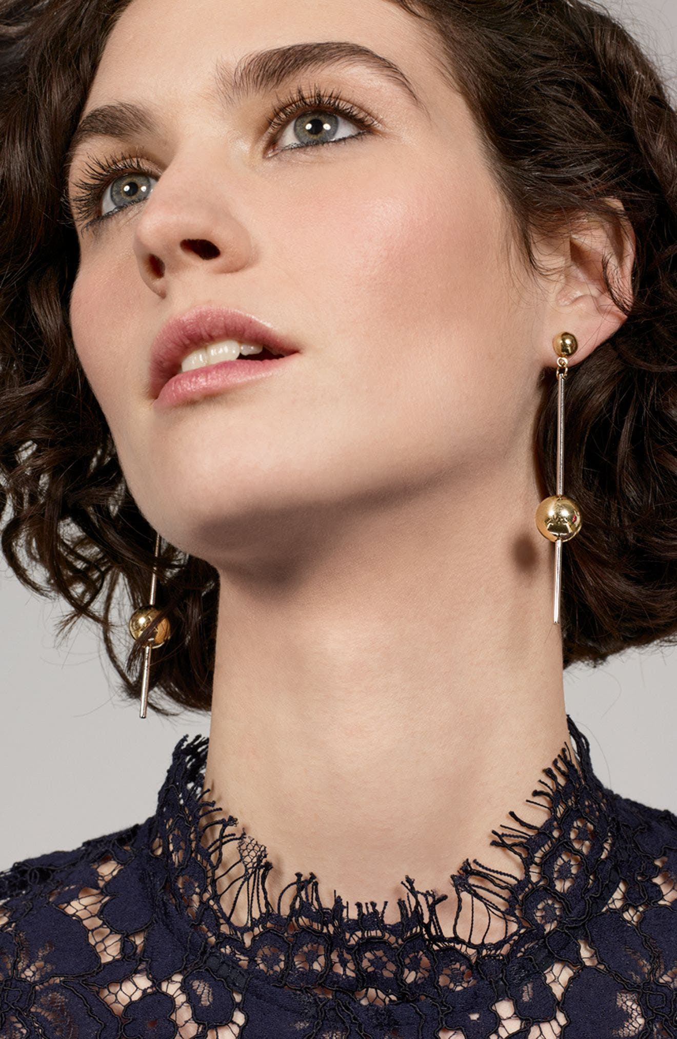 Alternate Image 4  - Argento Vivo Stick Ball Earrings