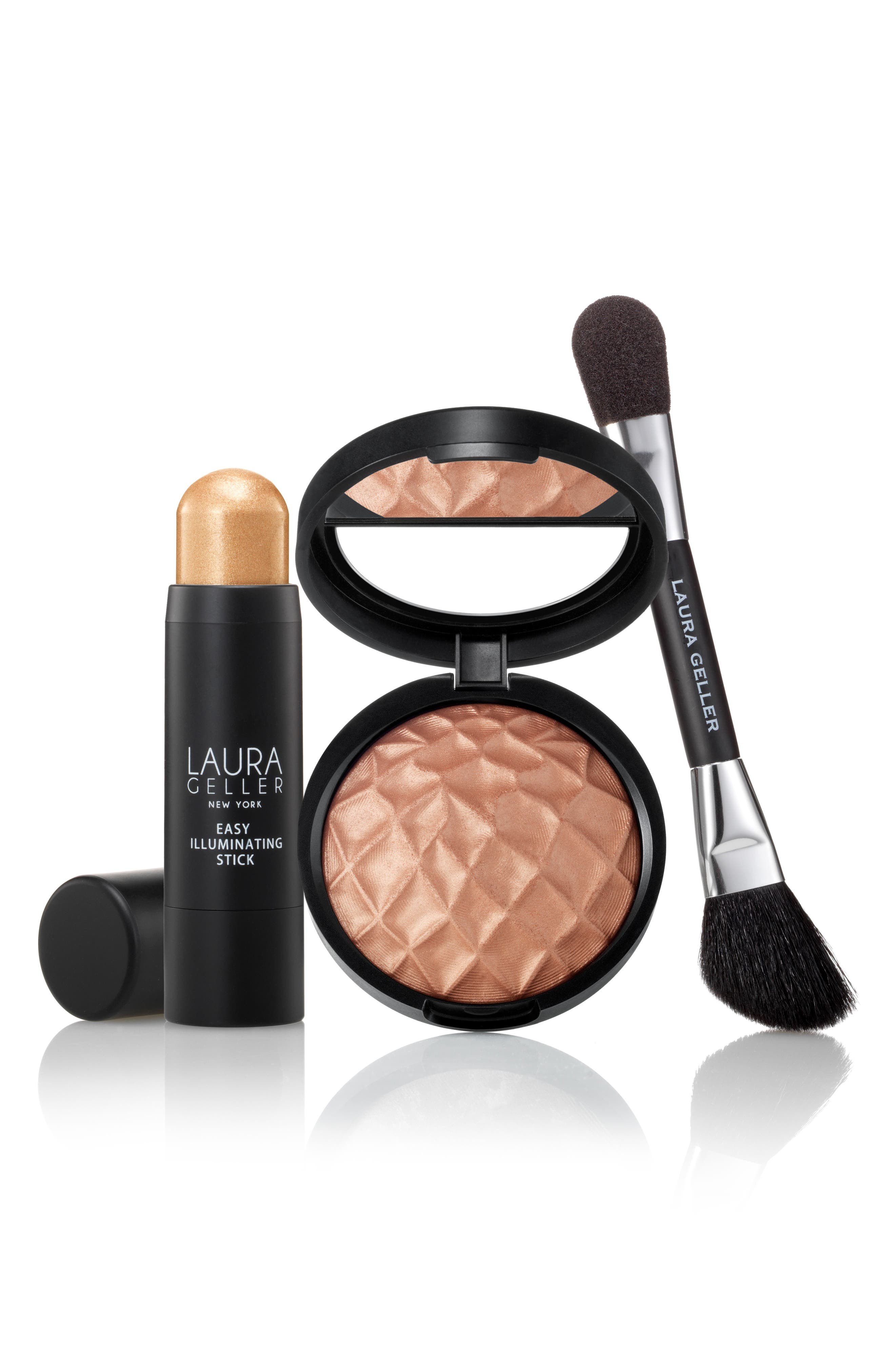 Laura Geller Beauty It's Glow Time Highlighting Collection ($84 Value)