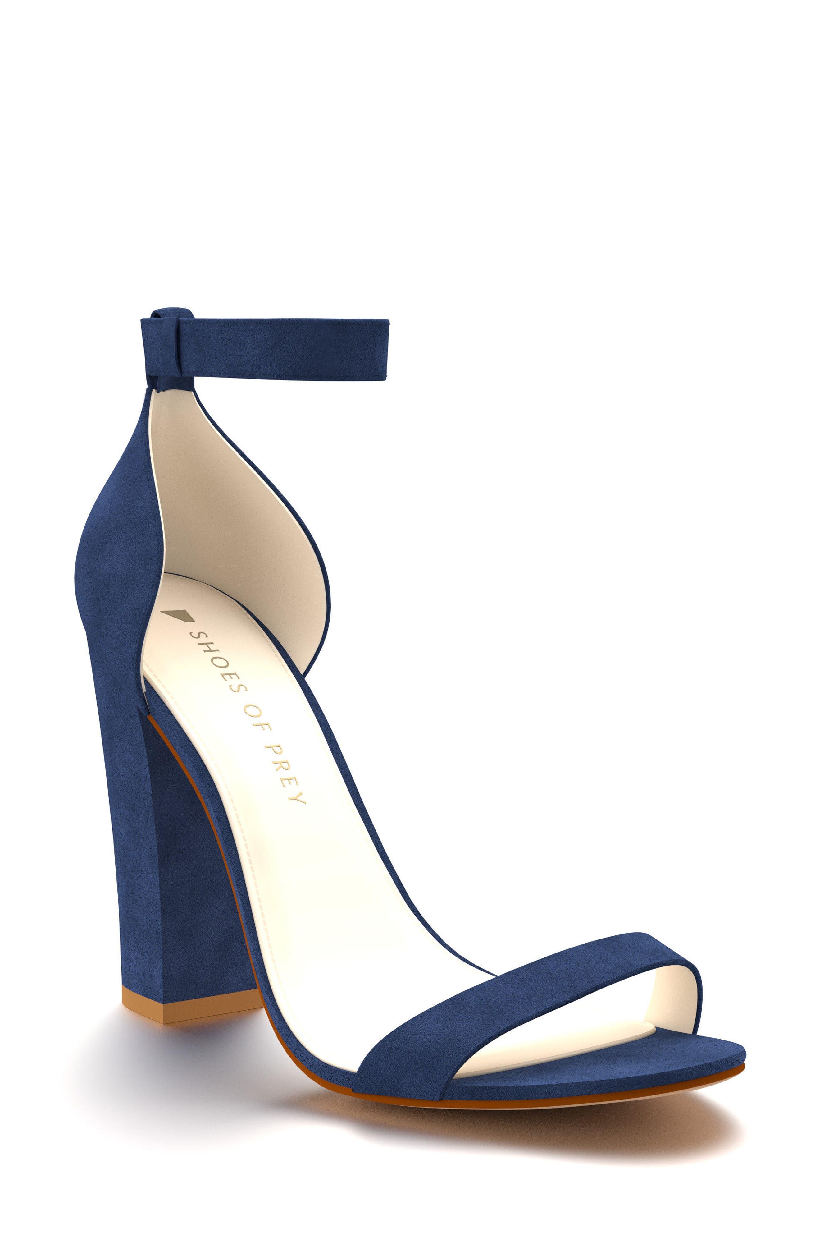Shoes of Prey Ankle Strap Sandal (Women)