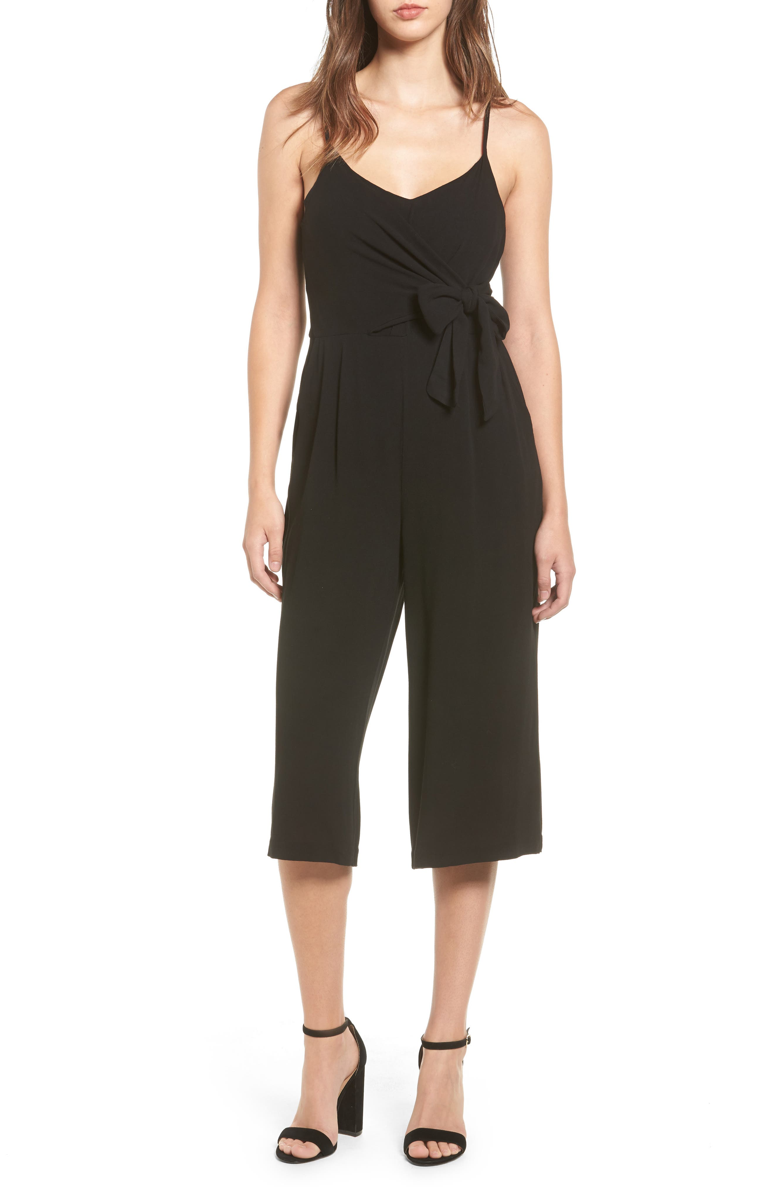 Everly Tie Waist Jumpsuit