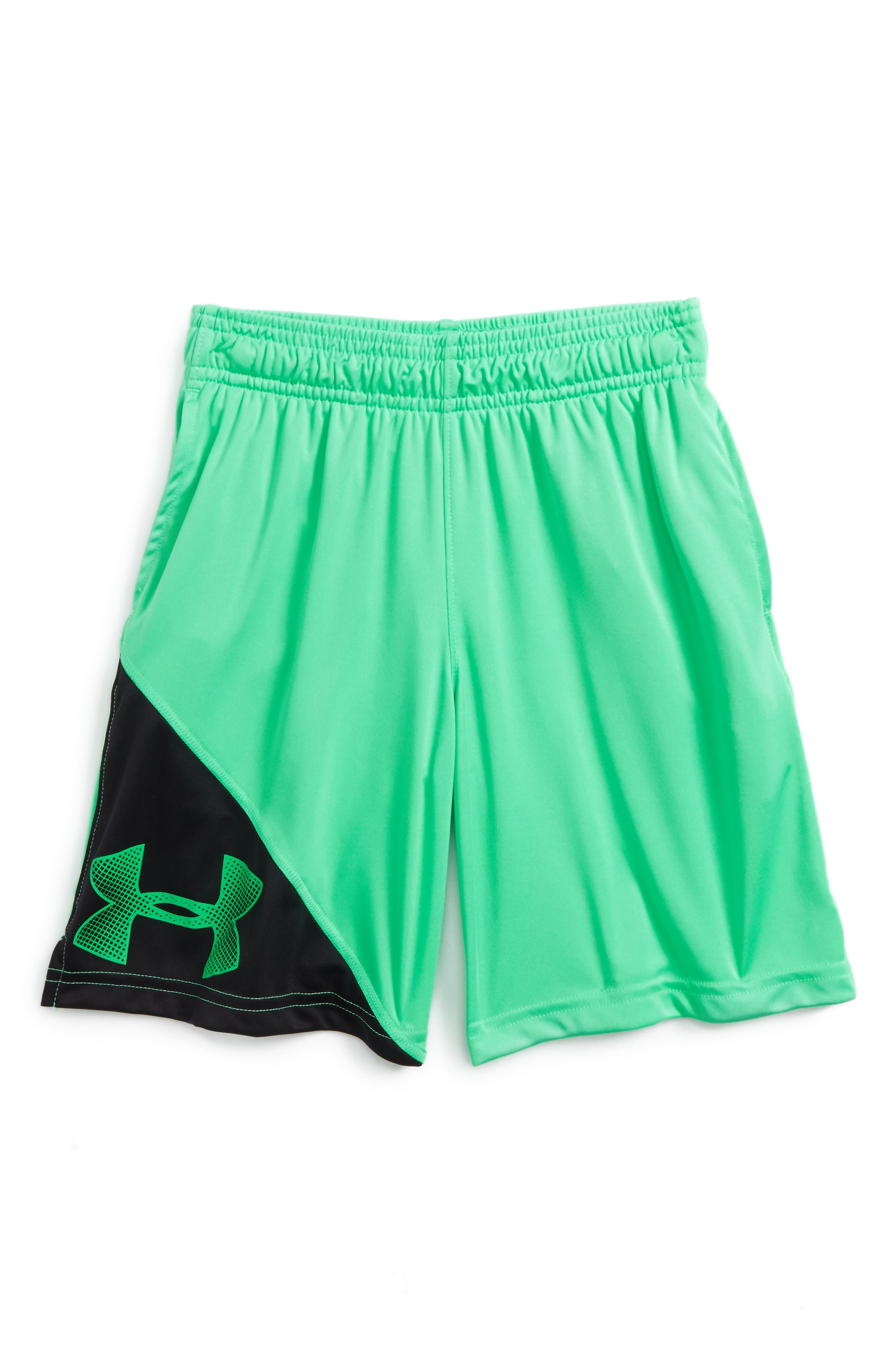 Under Armour 'Tech™' Athletic Shorts (Little Boys & Big Boys)