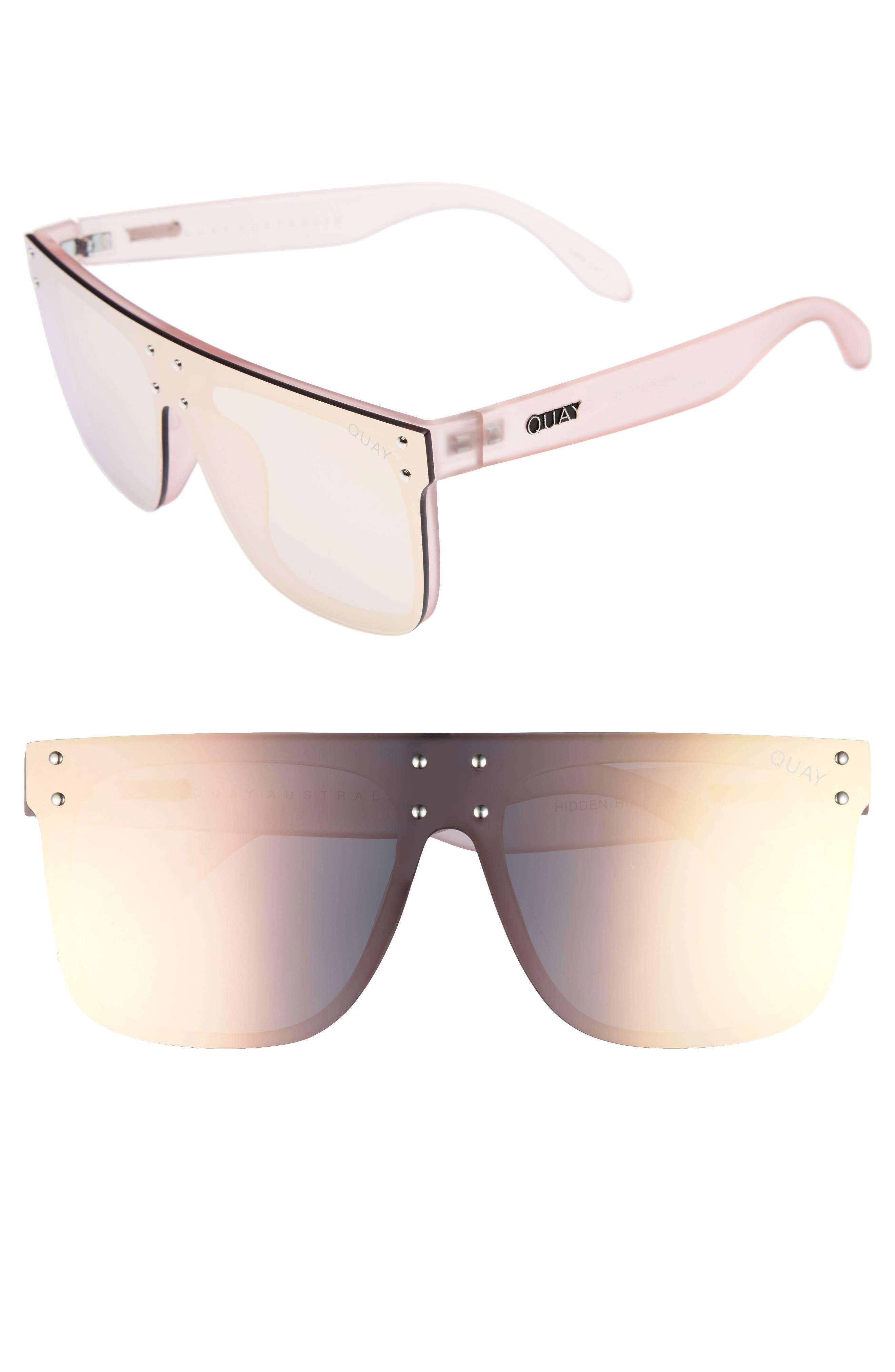 #QUAYxKYLIE Hidden Hills 59mm Shield Sunglasses