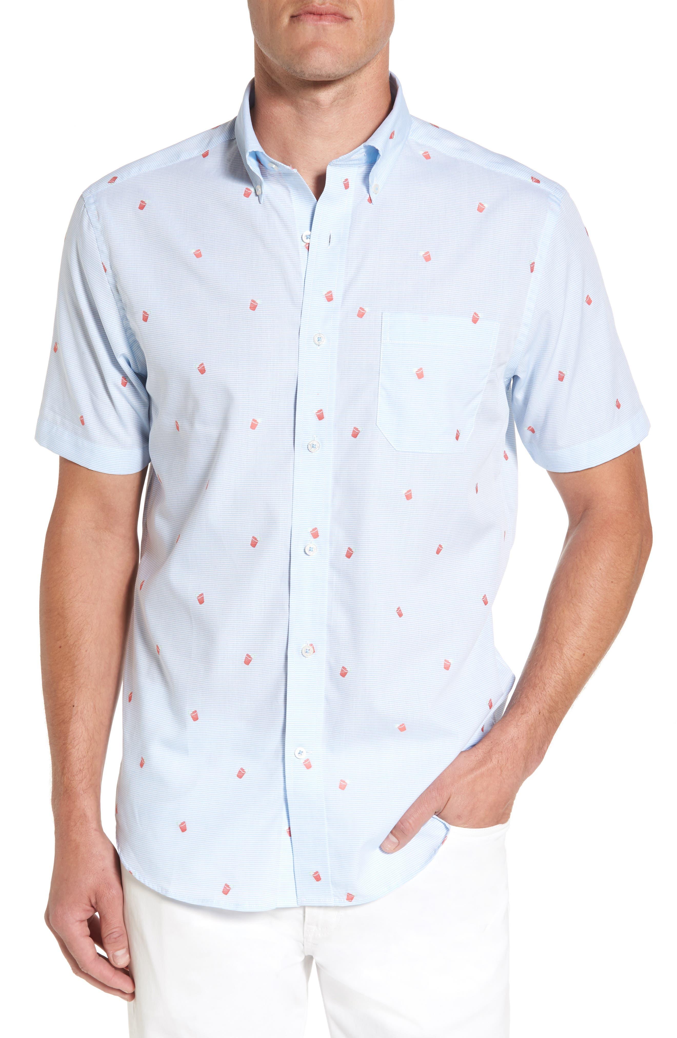 Southern Tide Rum Swizzle Sport Shirt