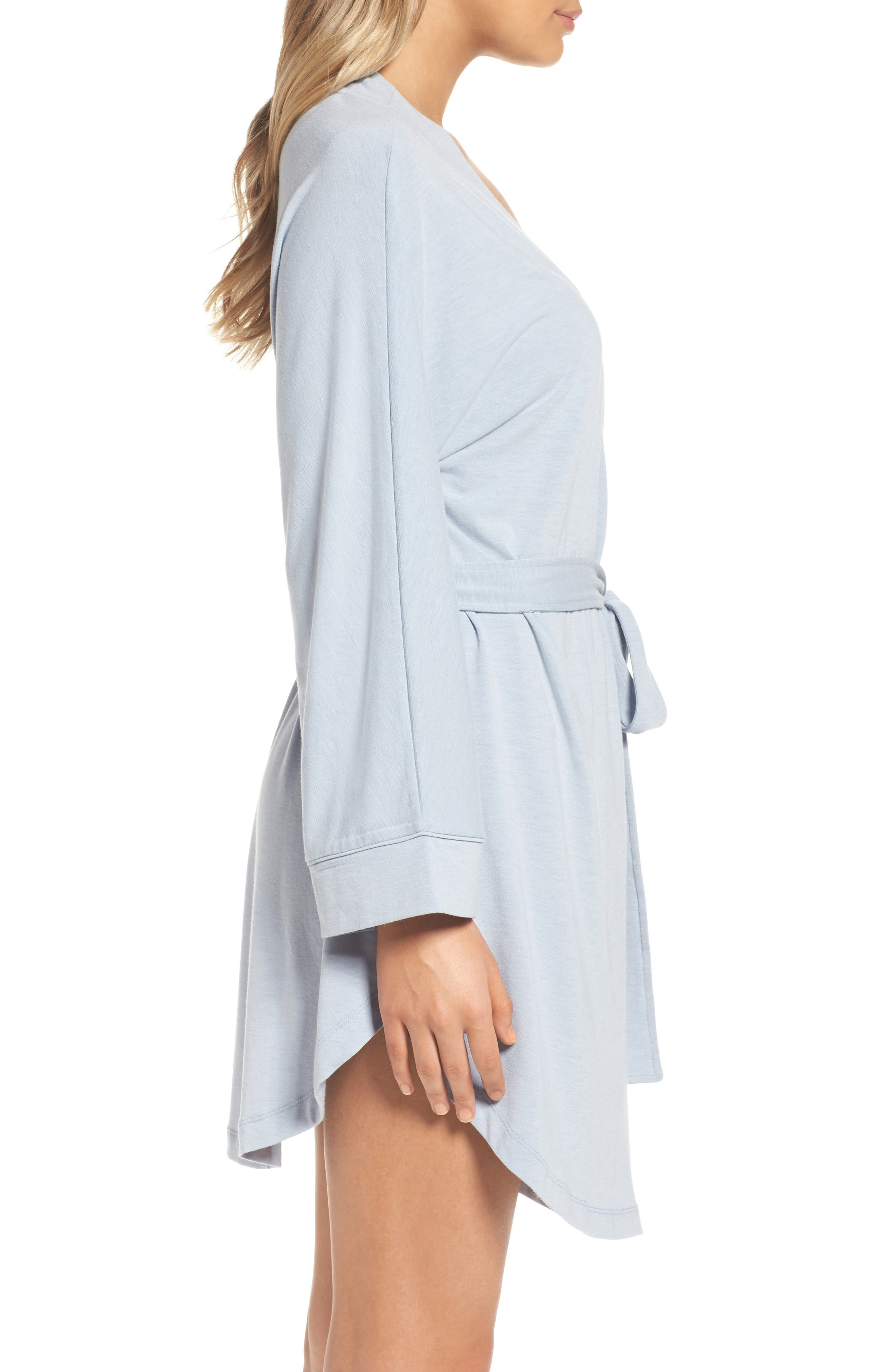Alternate Image 3  - Honeydew Intimates Jersey Robe (2 for $60)