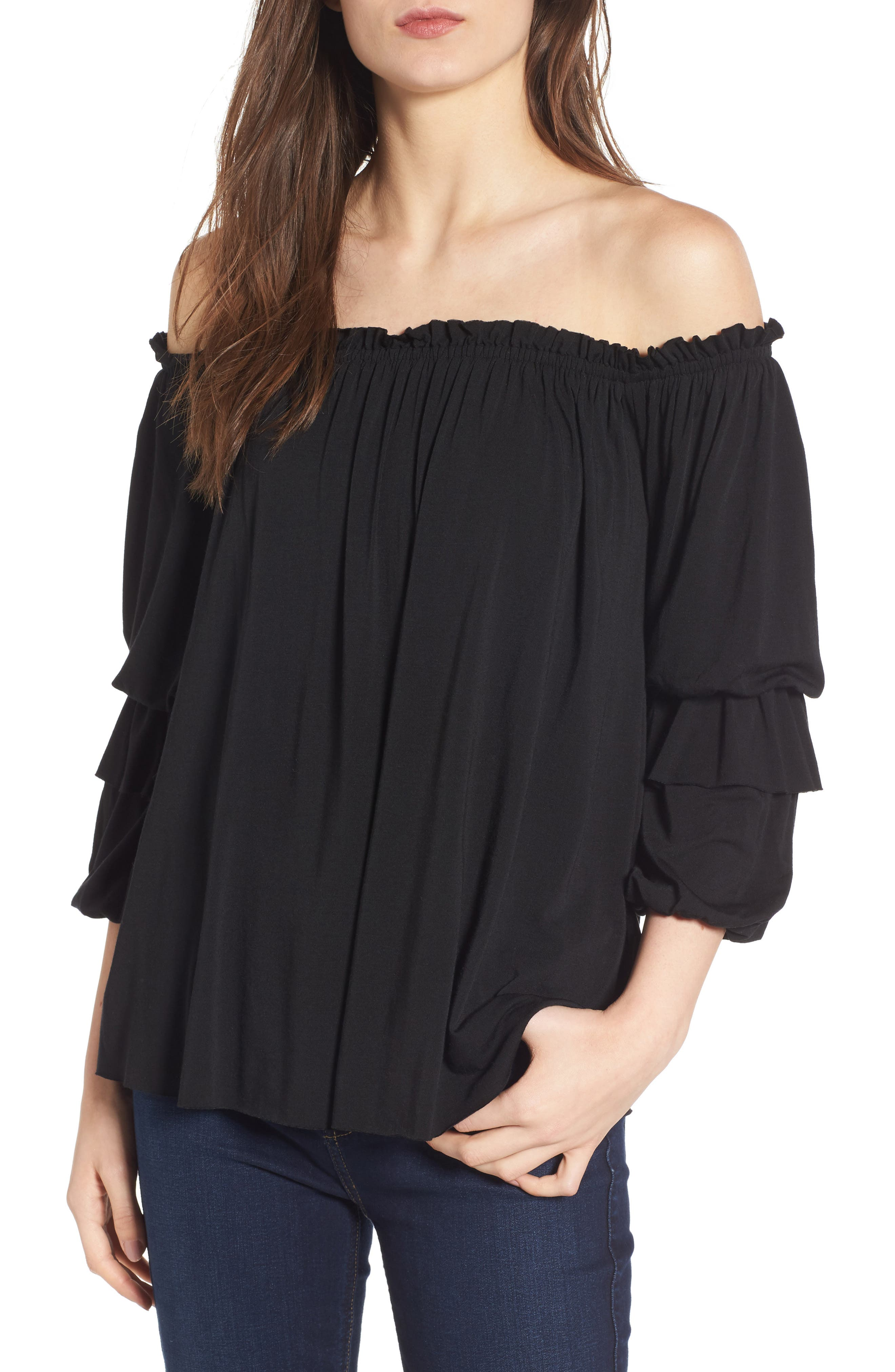 Bailey 44 Regalia Off the Shoulder Top
