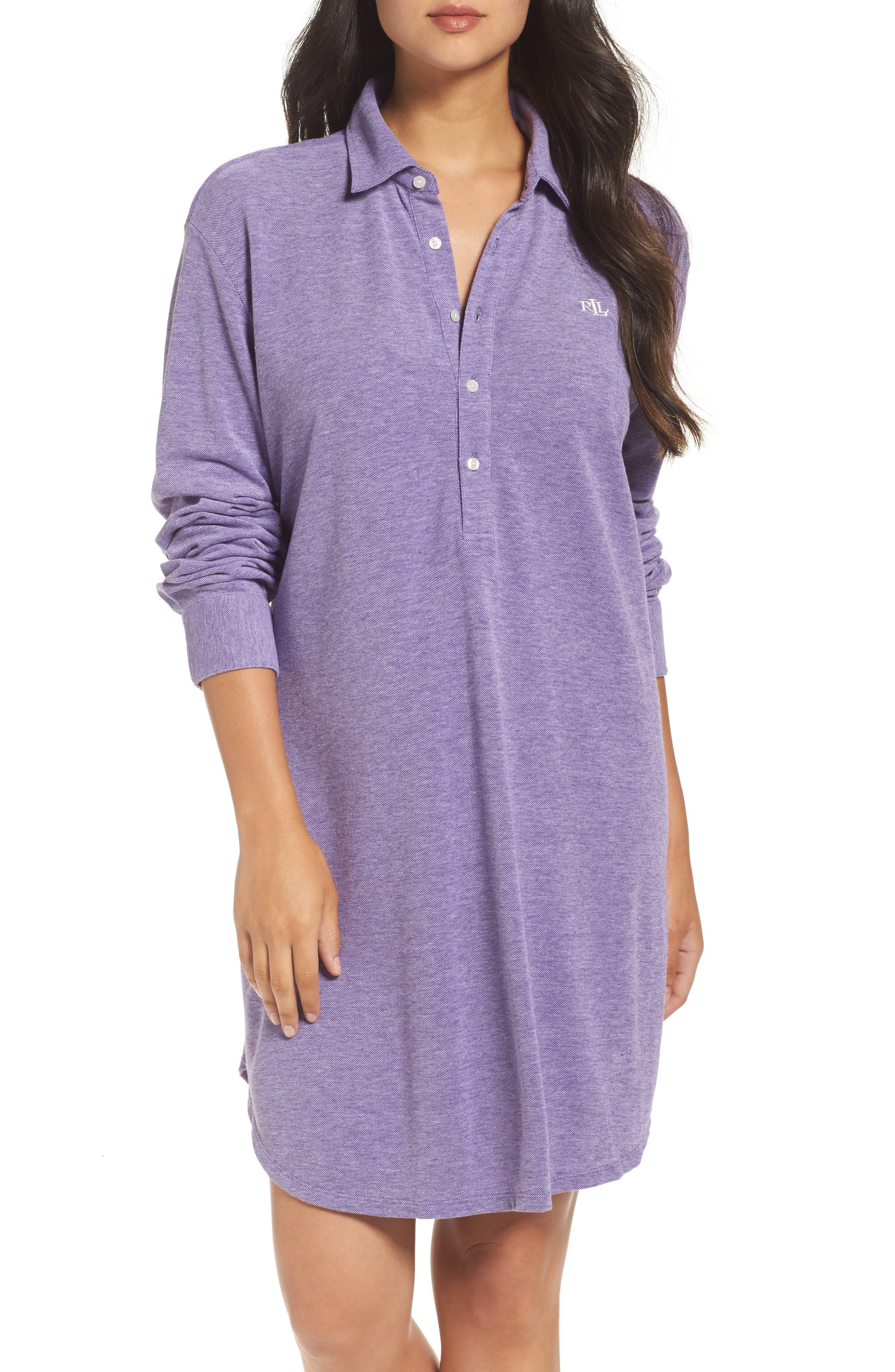 Lauren Ralph Lauren Popover Sleep Shirt