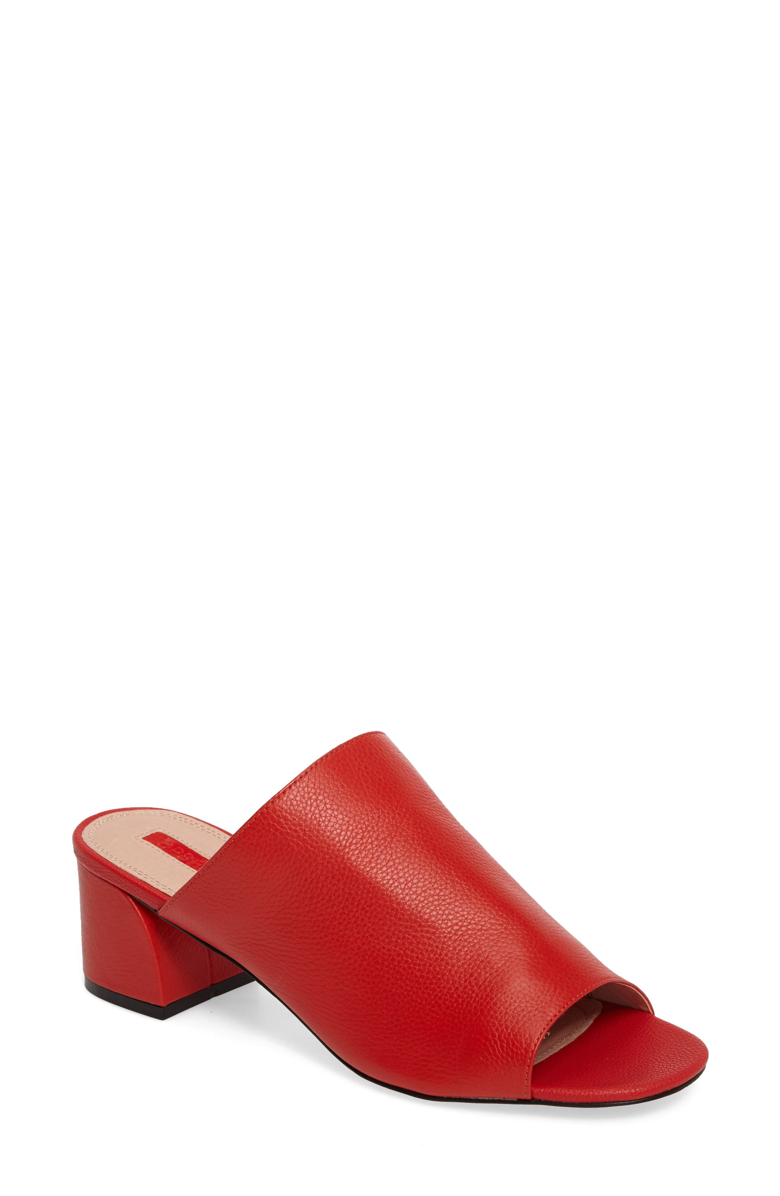 Topshop Notorious Metallic Slide Sandal (Women)