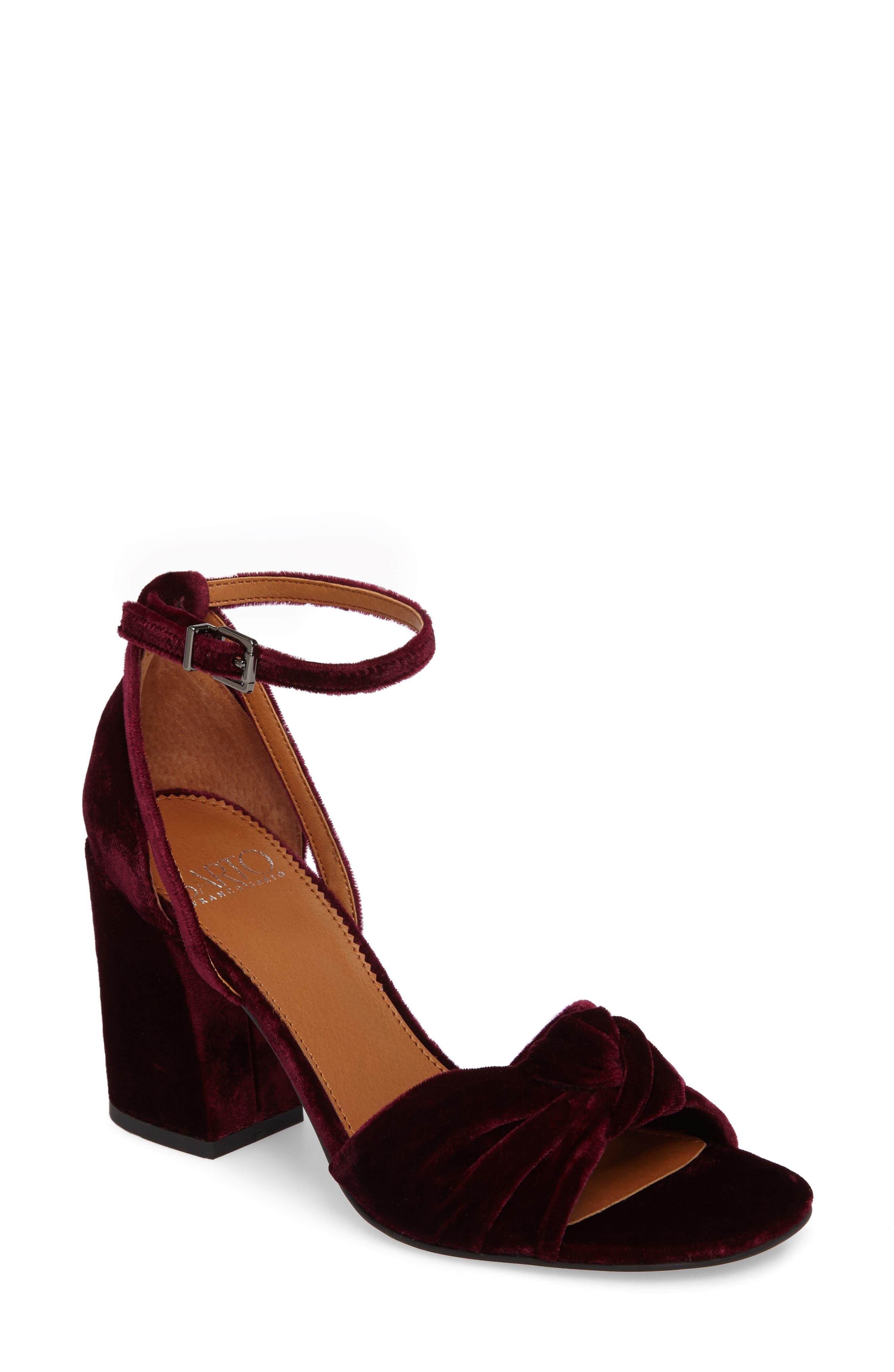 SARTO by Franco Sarto Edana Knotted Block Heel Sandal (Women)