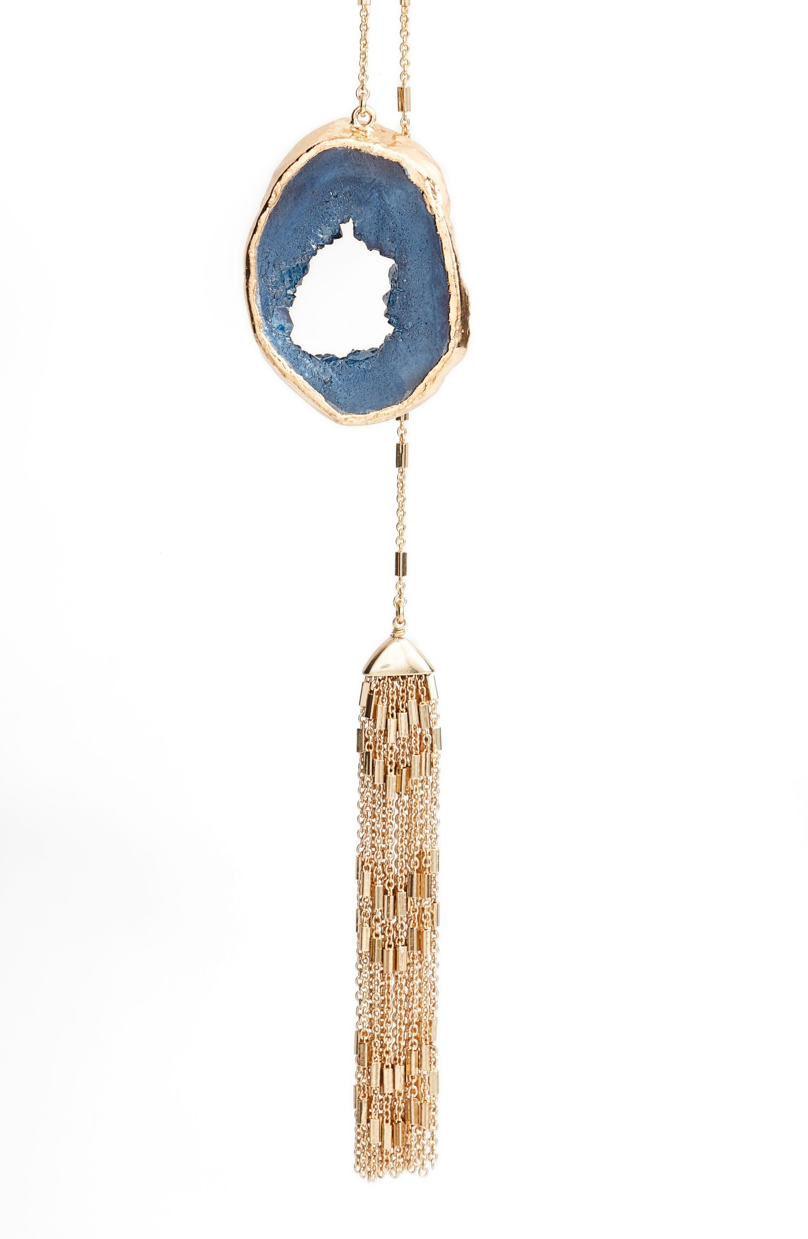 Alternate Image 2  - Treasure & Bond Drusy Lariat Necklace