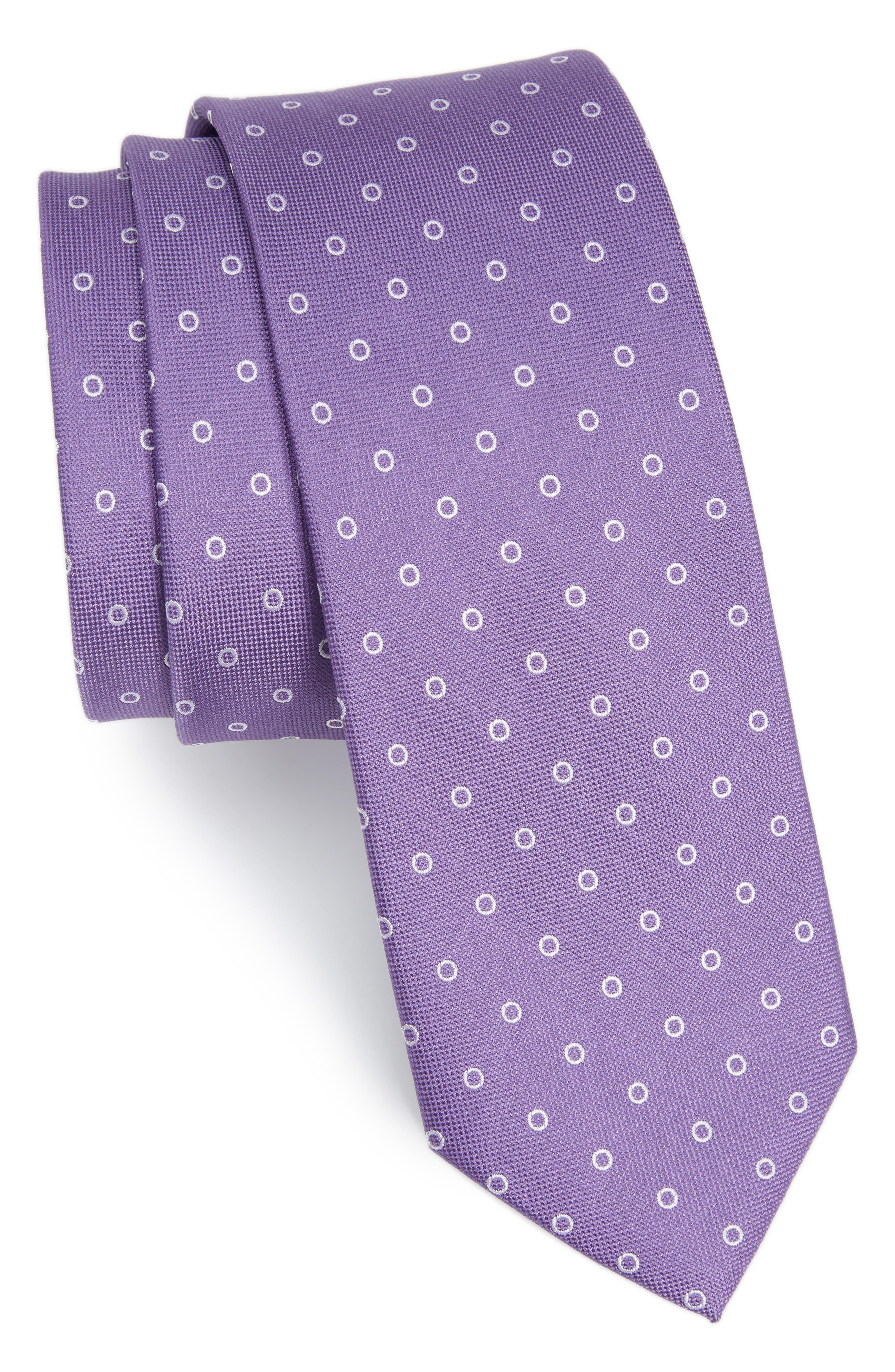 The Tie Bar Round Trip Silk Tie