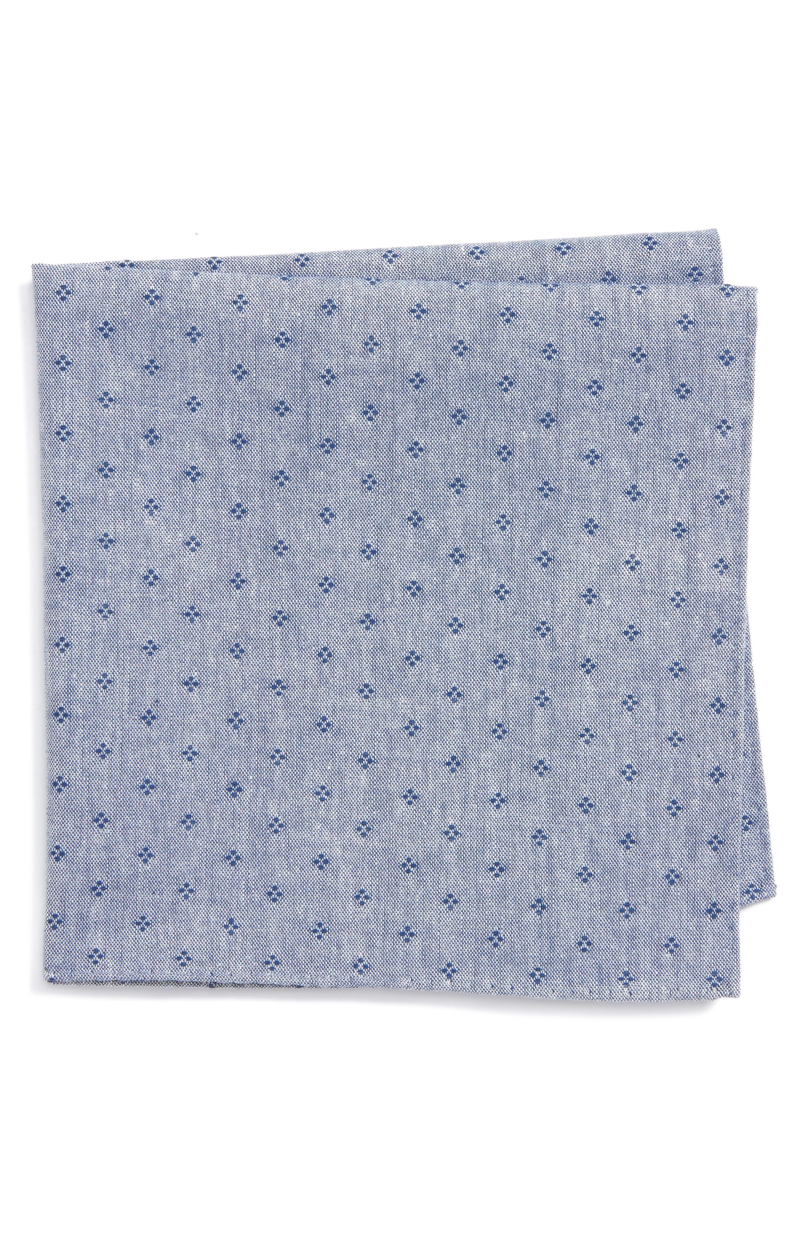 Nordstrom Men's Shop Rulli Dot Cotton Pocket Square