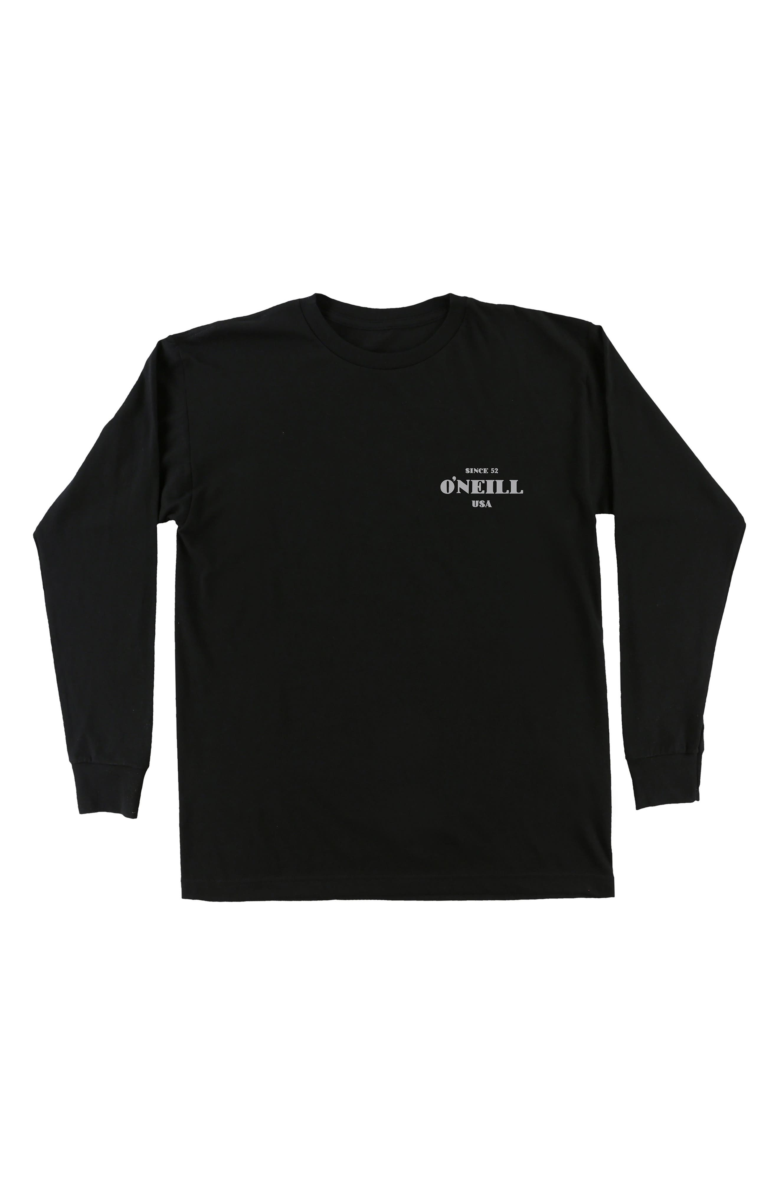 O'Neill Signage Long Sleeve T-Shirt (Big Boys)