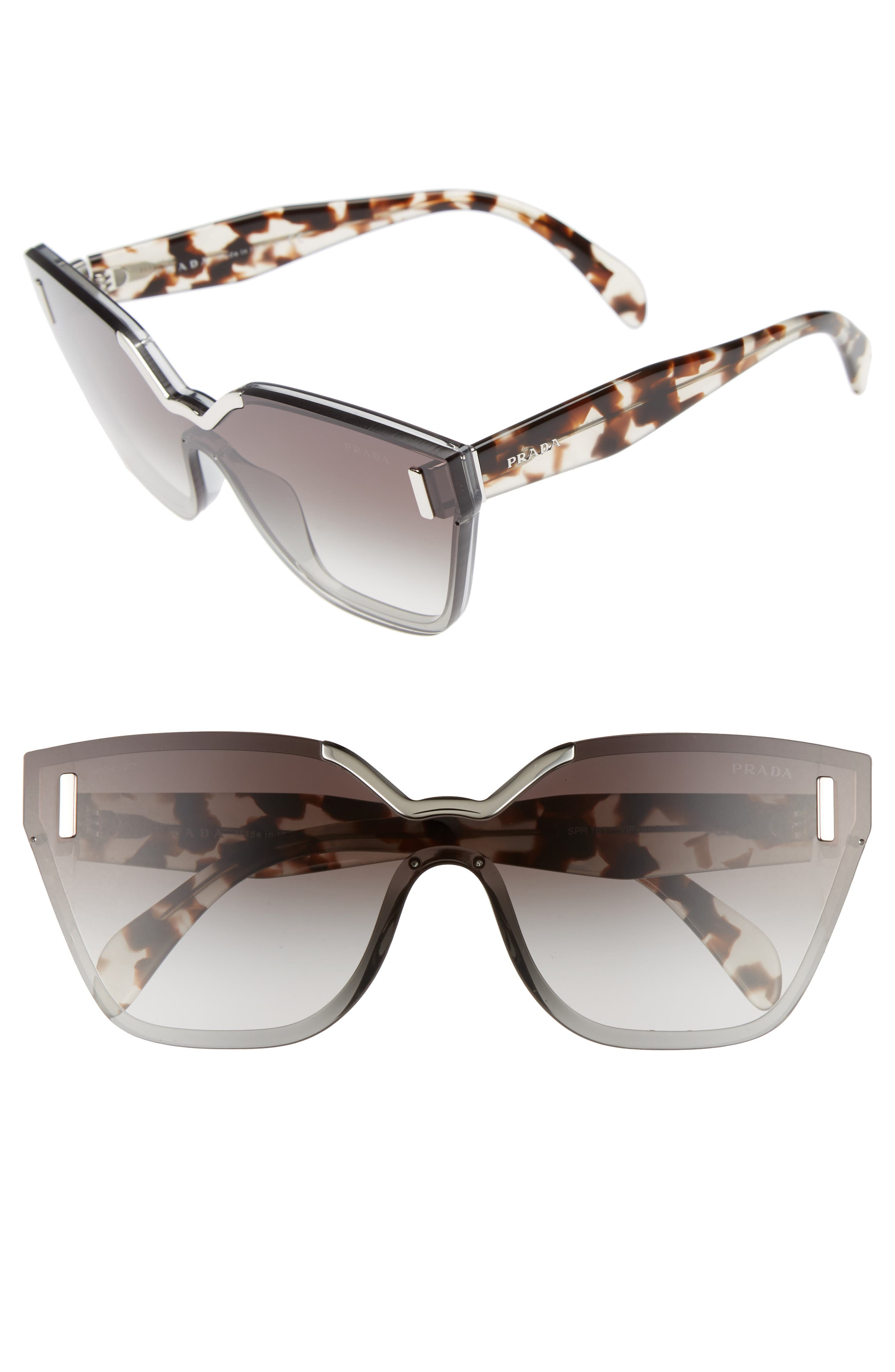 Prada Gradient Shield Sunglasses