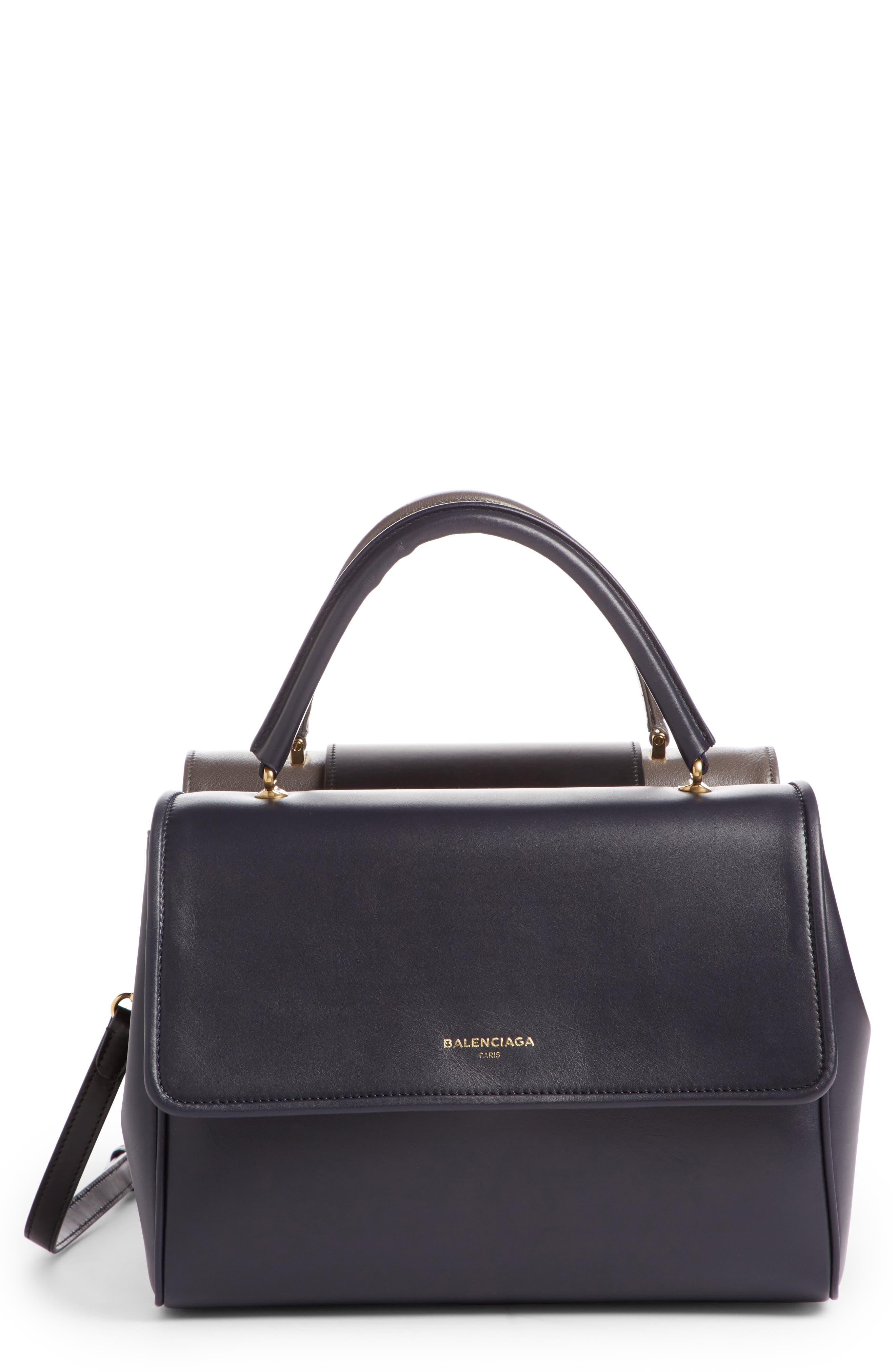 Balenciaga Collage Triple Leather Bag