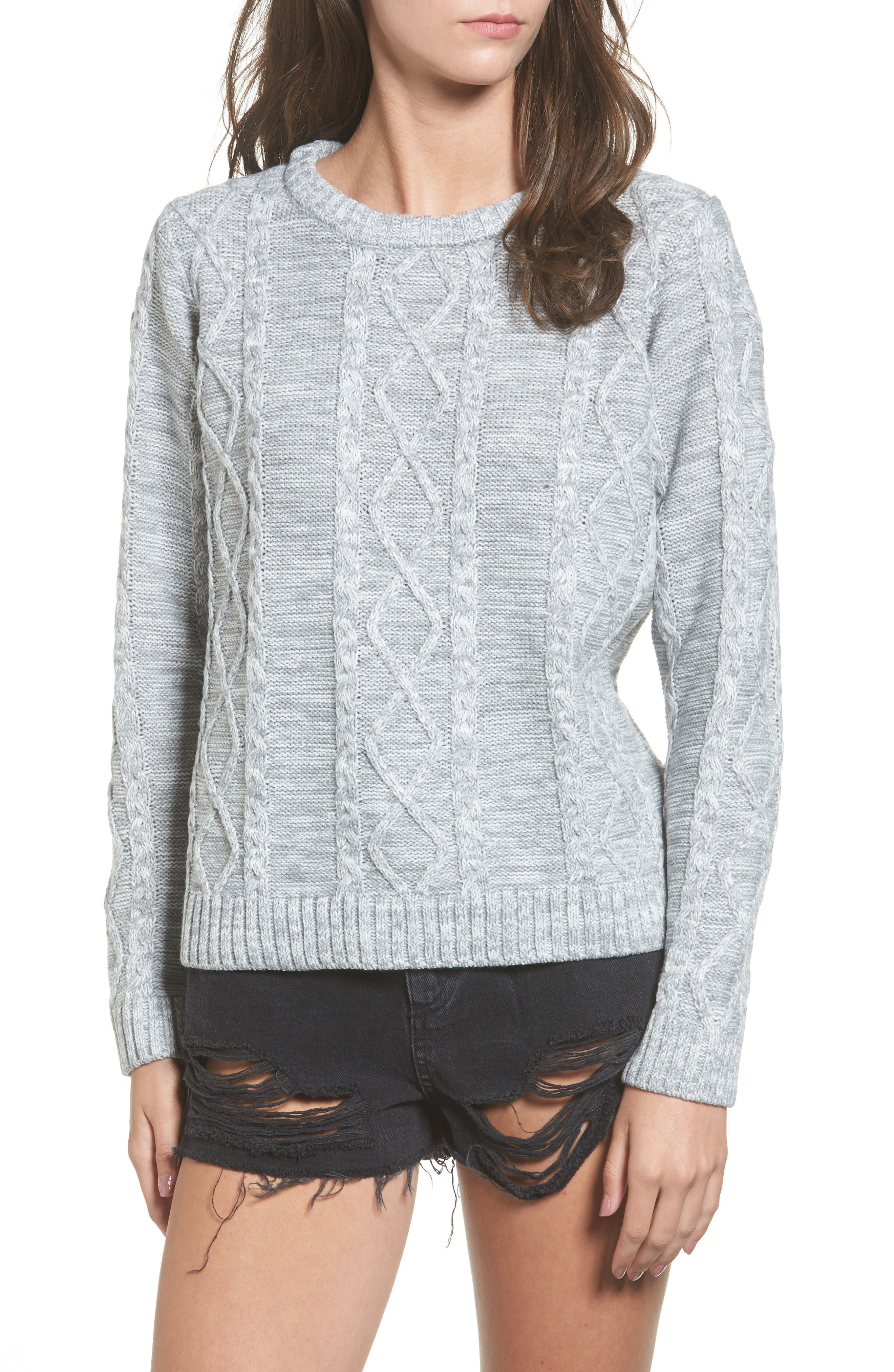 Obey Basel Cable Knit Sweater