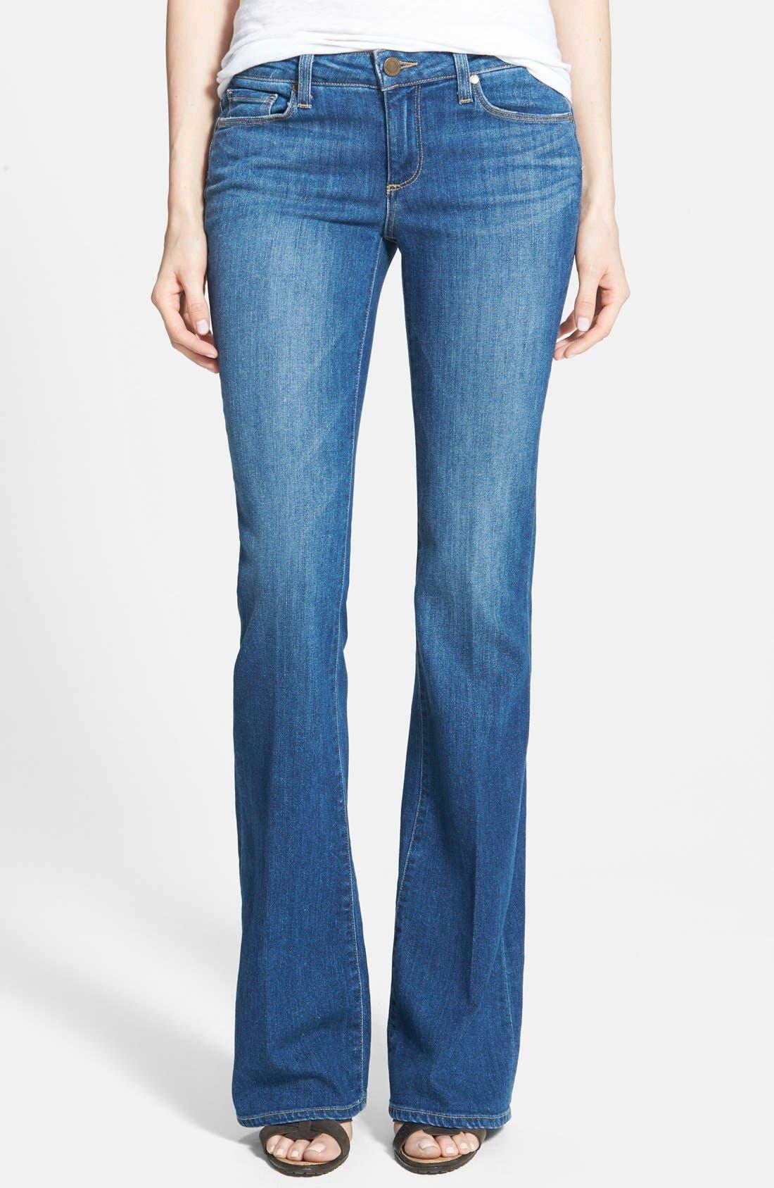 Alternate Image 1 Selected - Paige Denim 'Skyline' Bootcut Jeans (Frances)