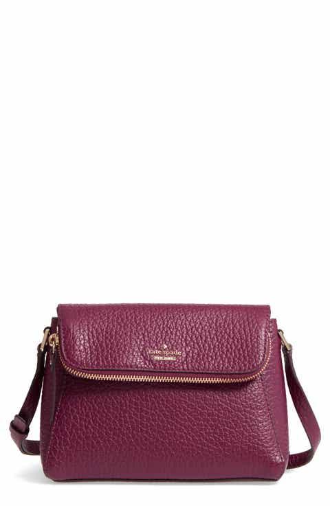 kate spade new york carter street - berrin leather crossbody bag