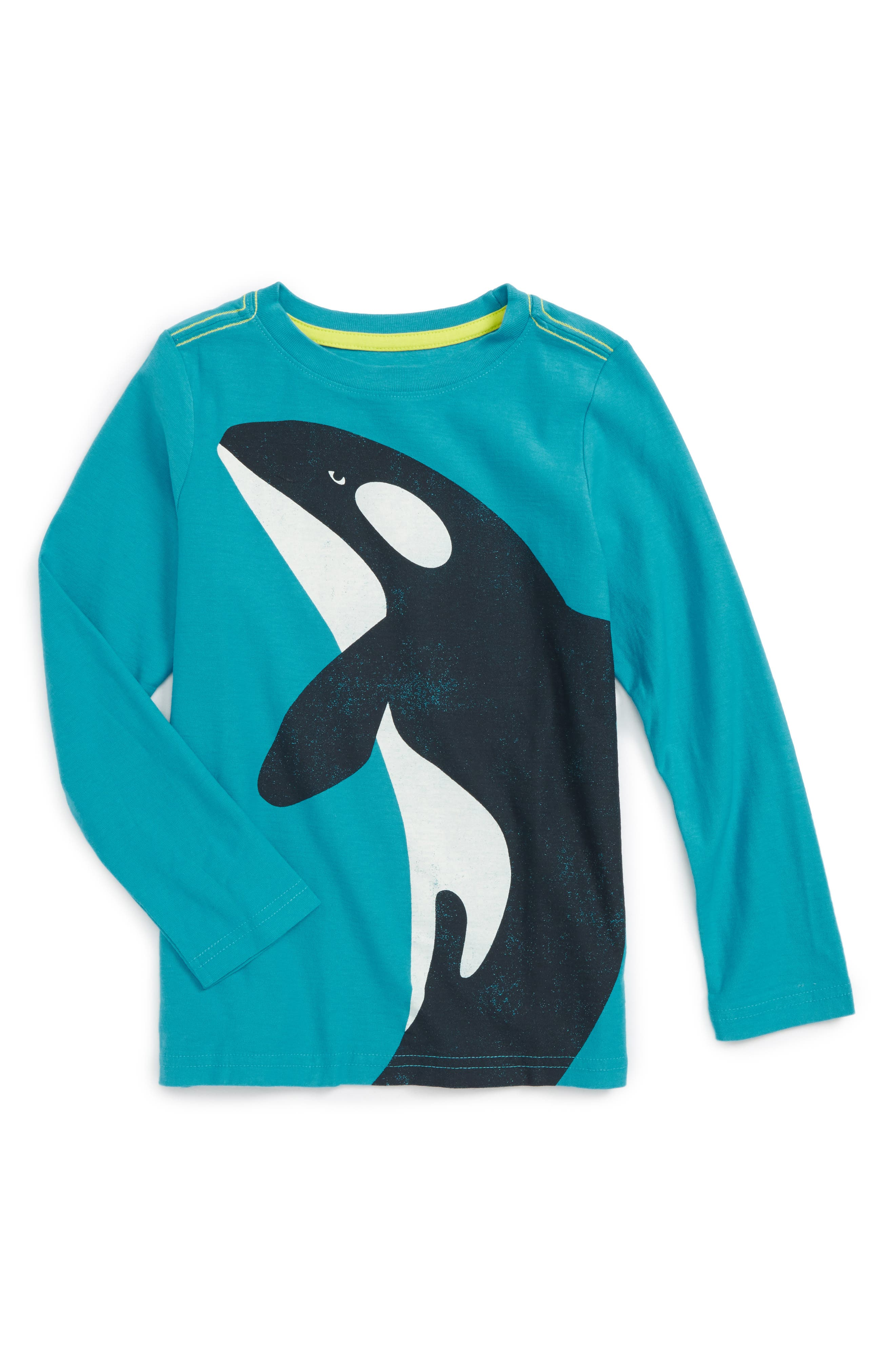 Tea Collection Orca Graphic T-Shirt (Toddler Boys & Little Boys)