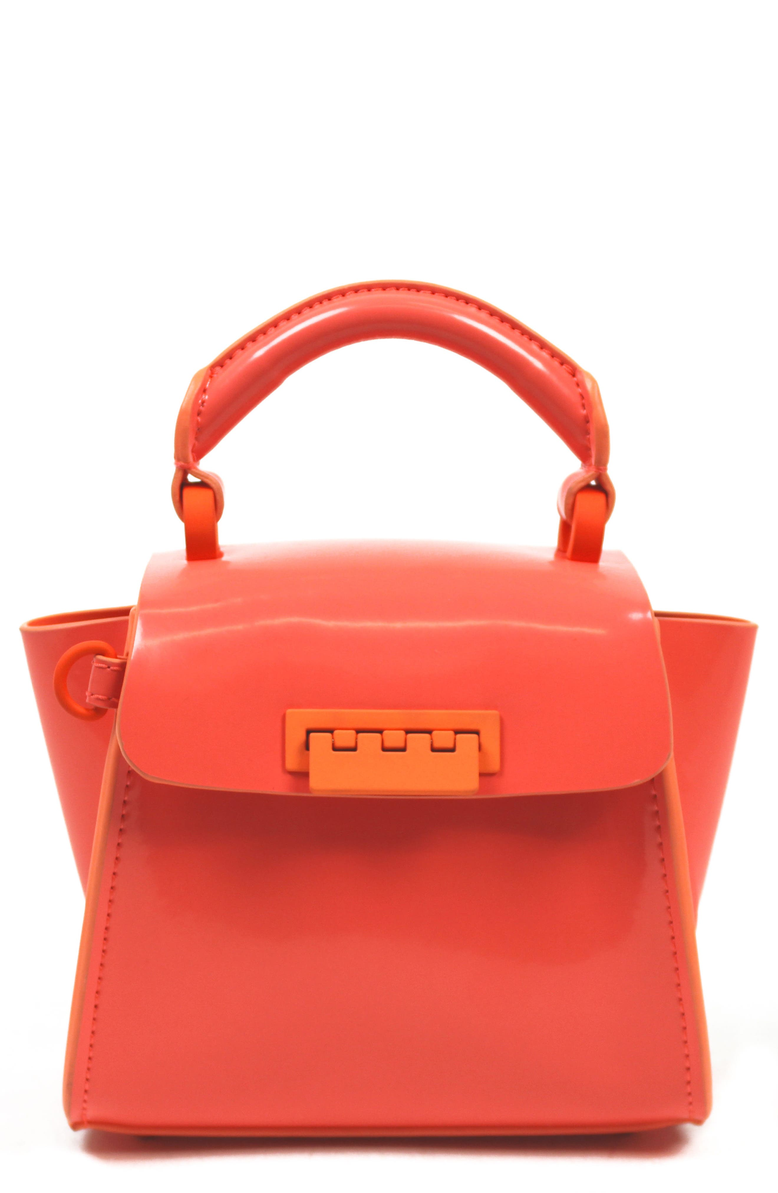 ZAC Zac Posen Eartha Iconic Patent Leather Mini Bag