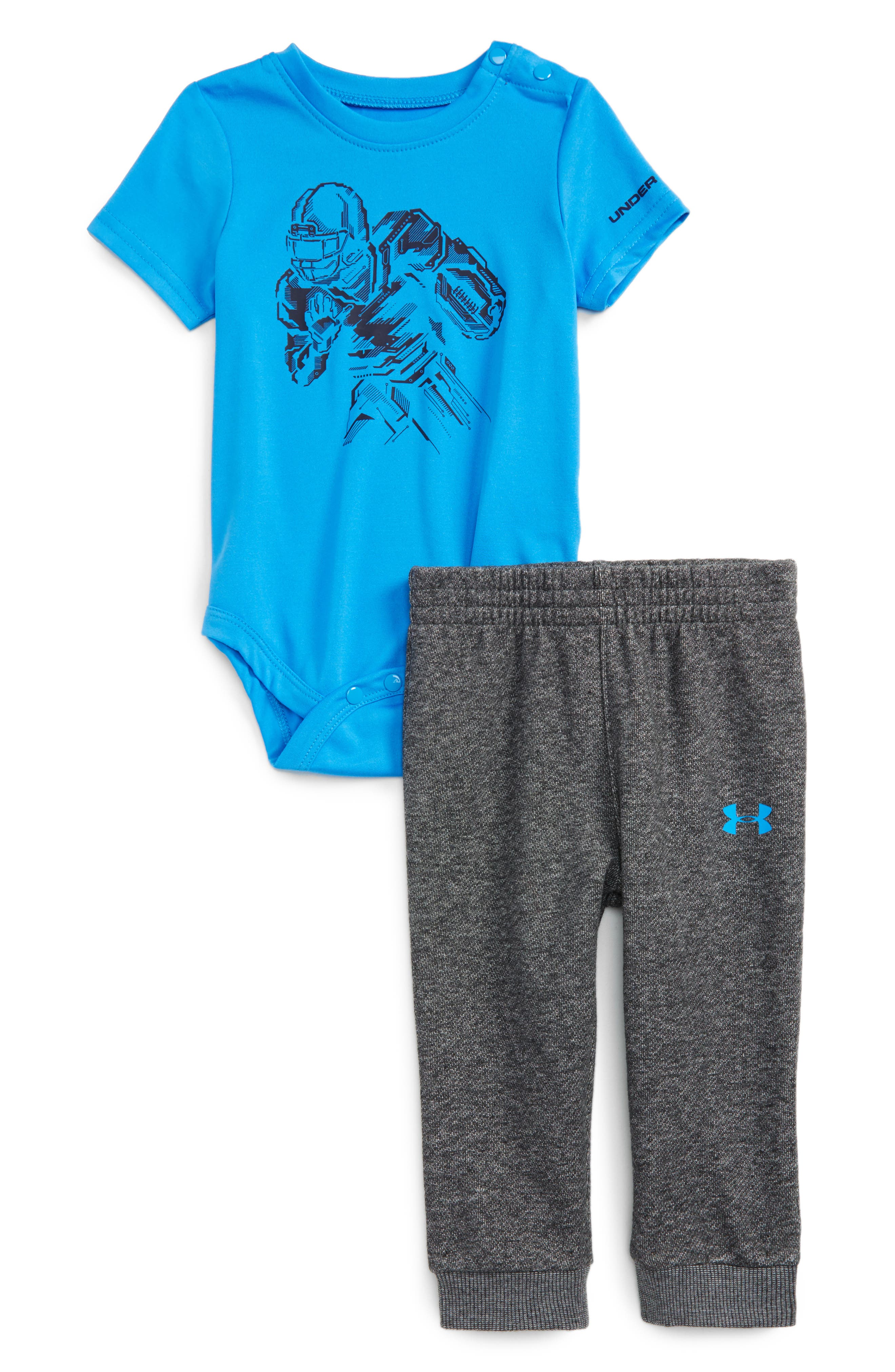 Under Armour Be Strong Be Fearless Bodysuit & Pants Set (Baby Boys)