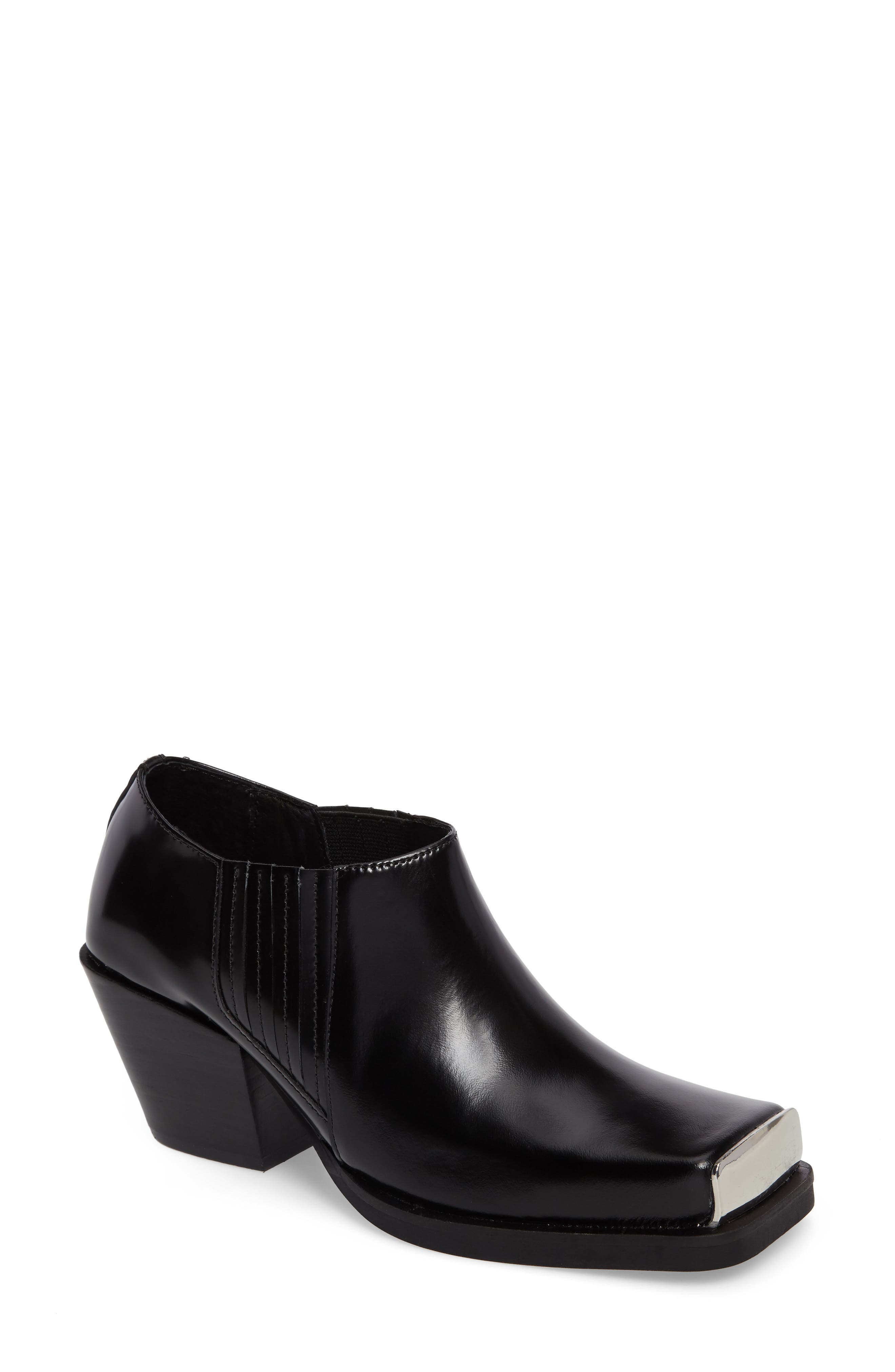 Jeffrey Campbell Reynoso Square Toe Bootie (Women)