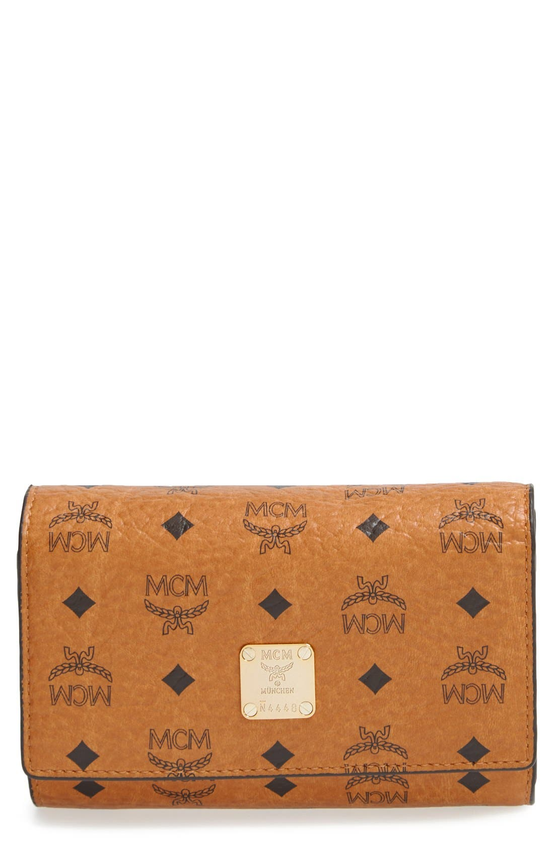 Alternate Image 1 Selected - MCM 'Visetos' Trifold Wallet