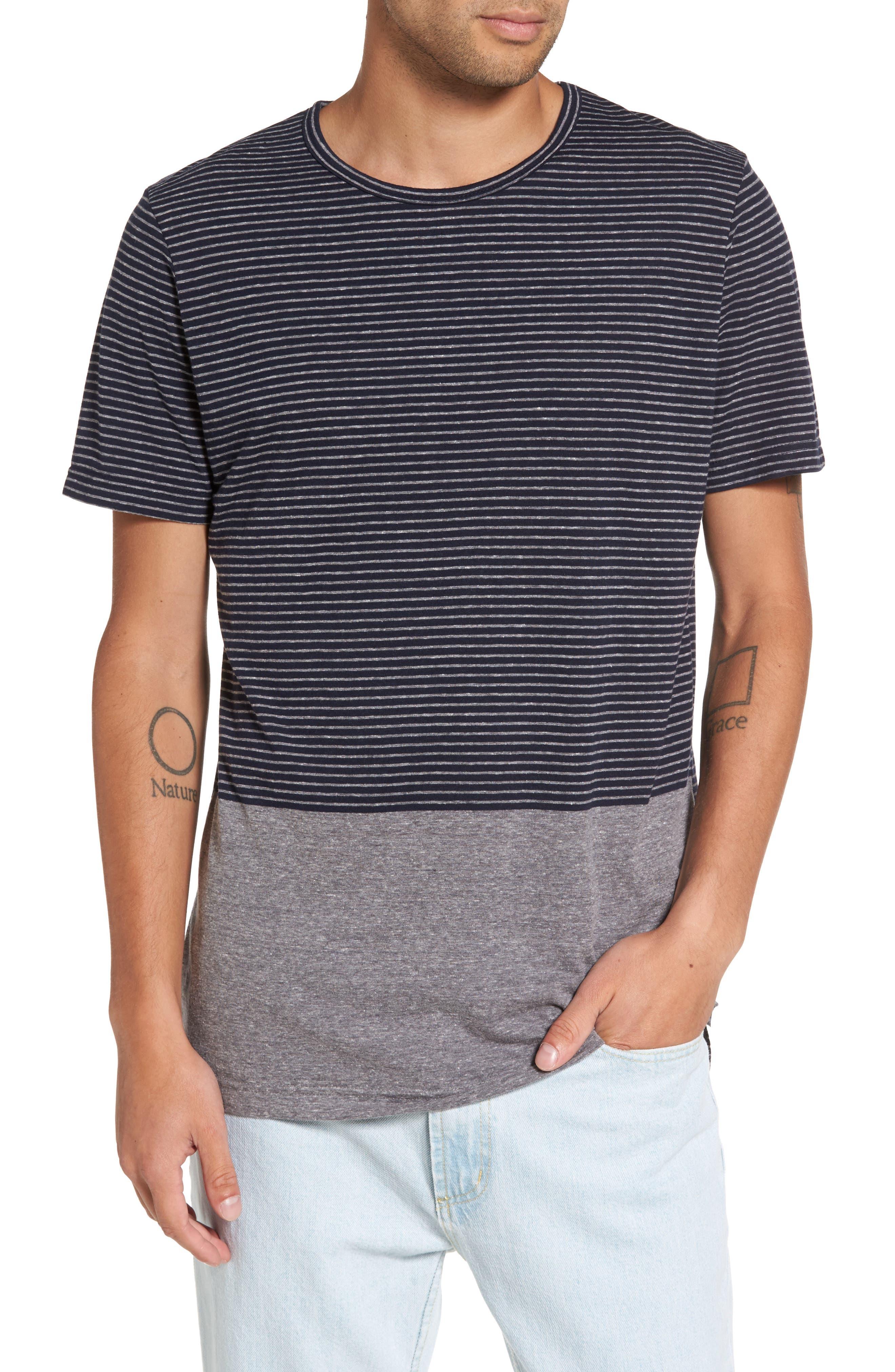 Globe 'Moonshine' Stripe Jersey T-Shirt