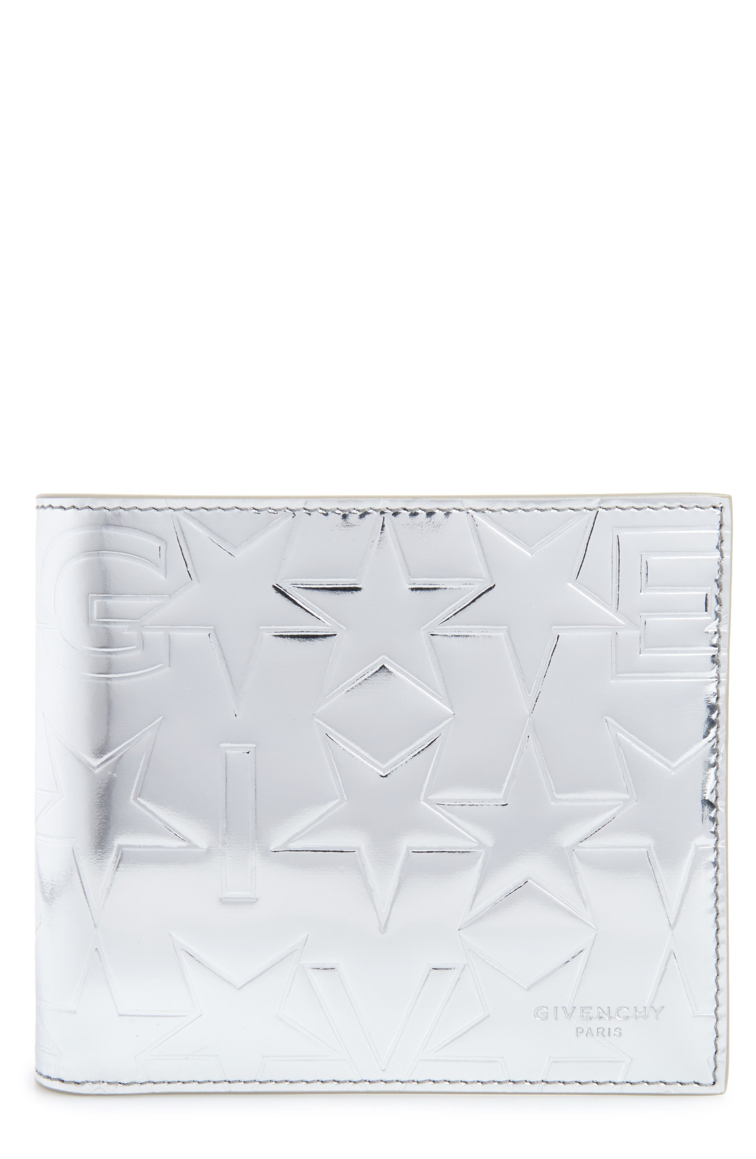 Givenchy Embossed Leather Wallet