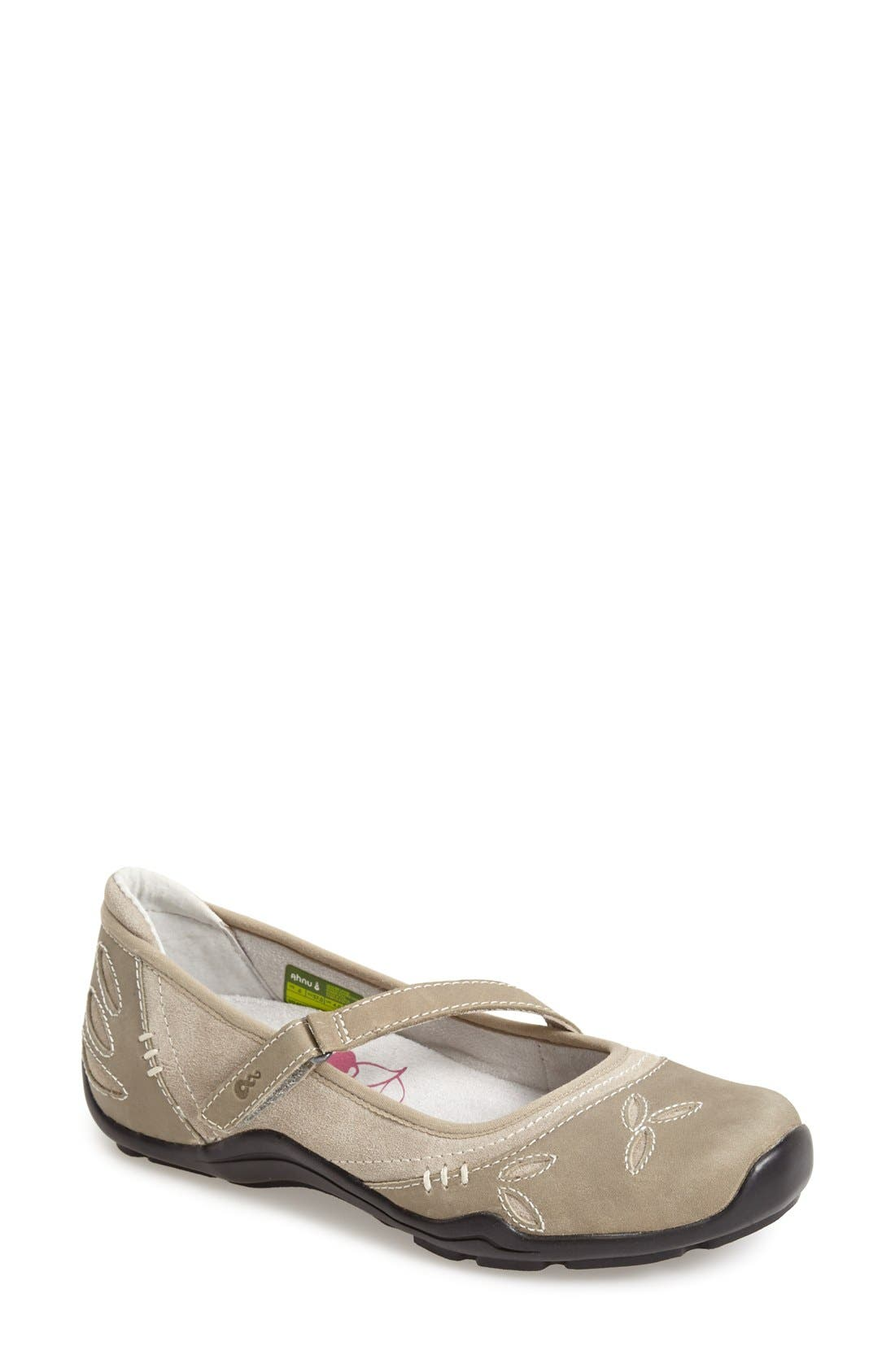 Alternate Image 1 Selected - Ahnu 'Gracie Pro' Leather Flat (Women)