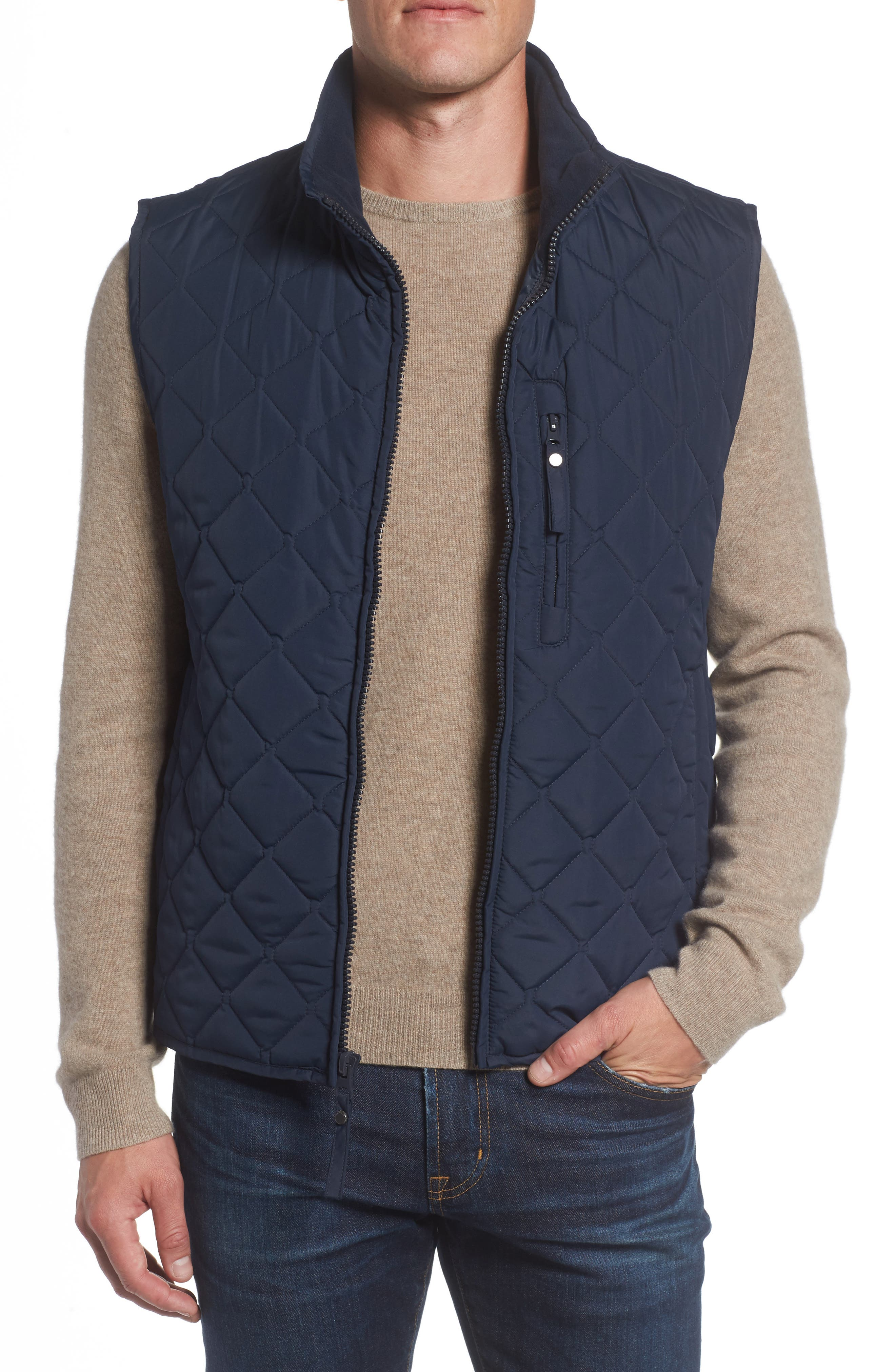 Andrew Marc Newel Quilted Vest