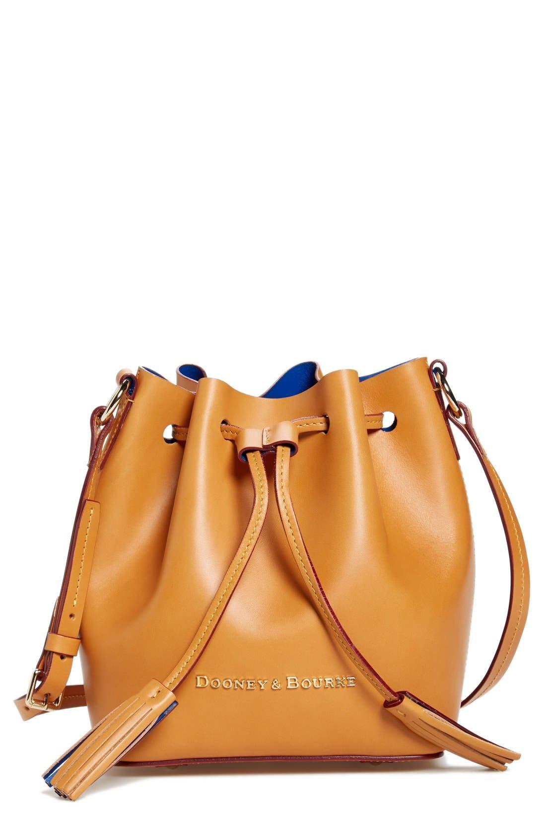 Alternate Image 1 Selected - Dooney & Bourke 'Serena' Leather Bucket Bag