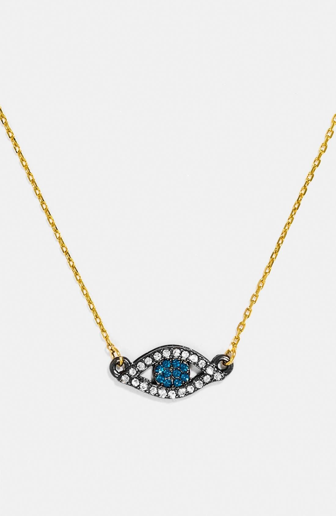 Alternate Image 1 Selected - BaubleBar 'Evil Eye Baby Blues' Necklace