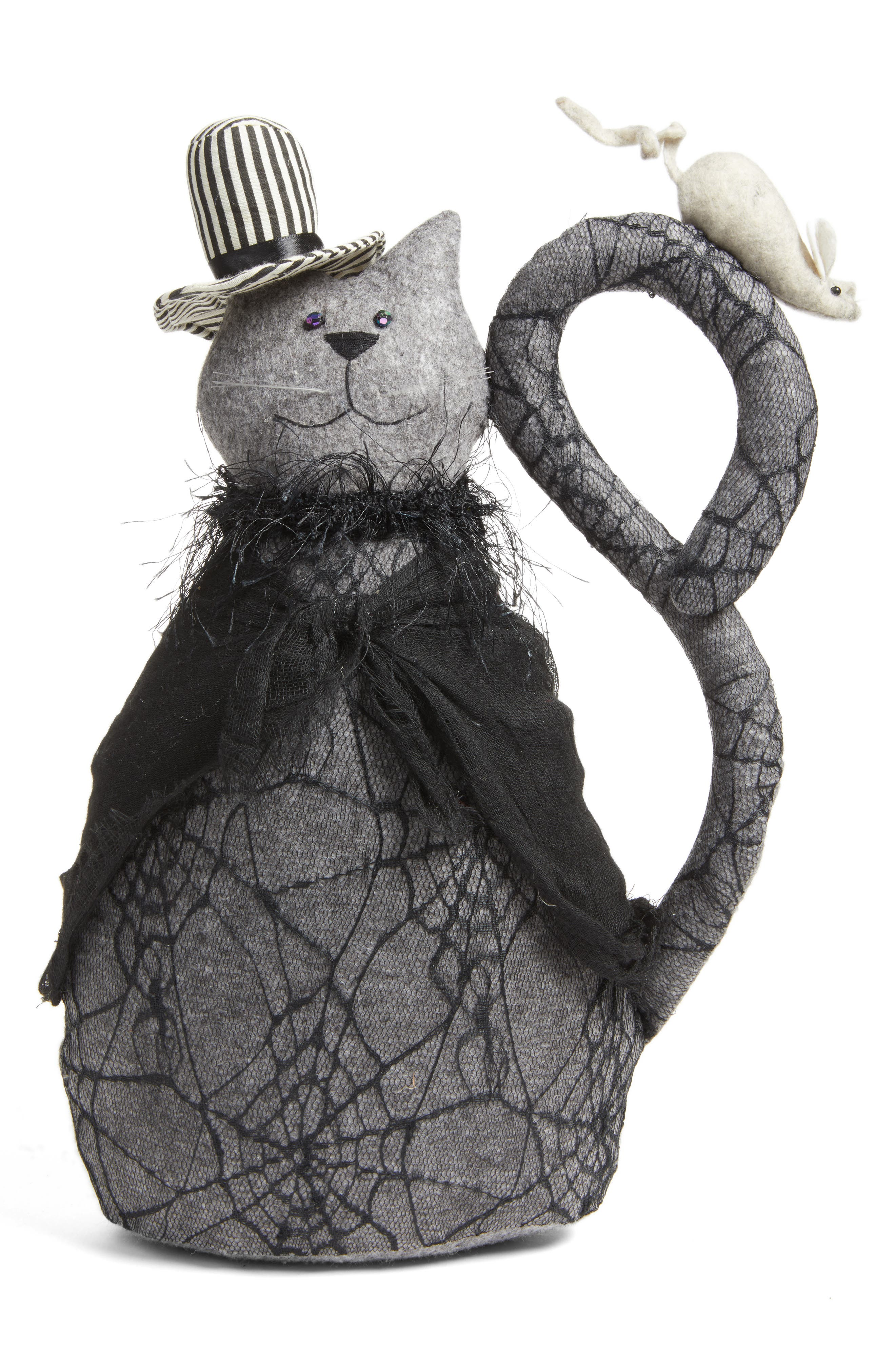 ALLSTATE Spider Lace Cat Decoration