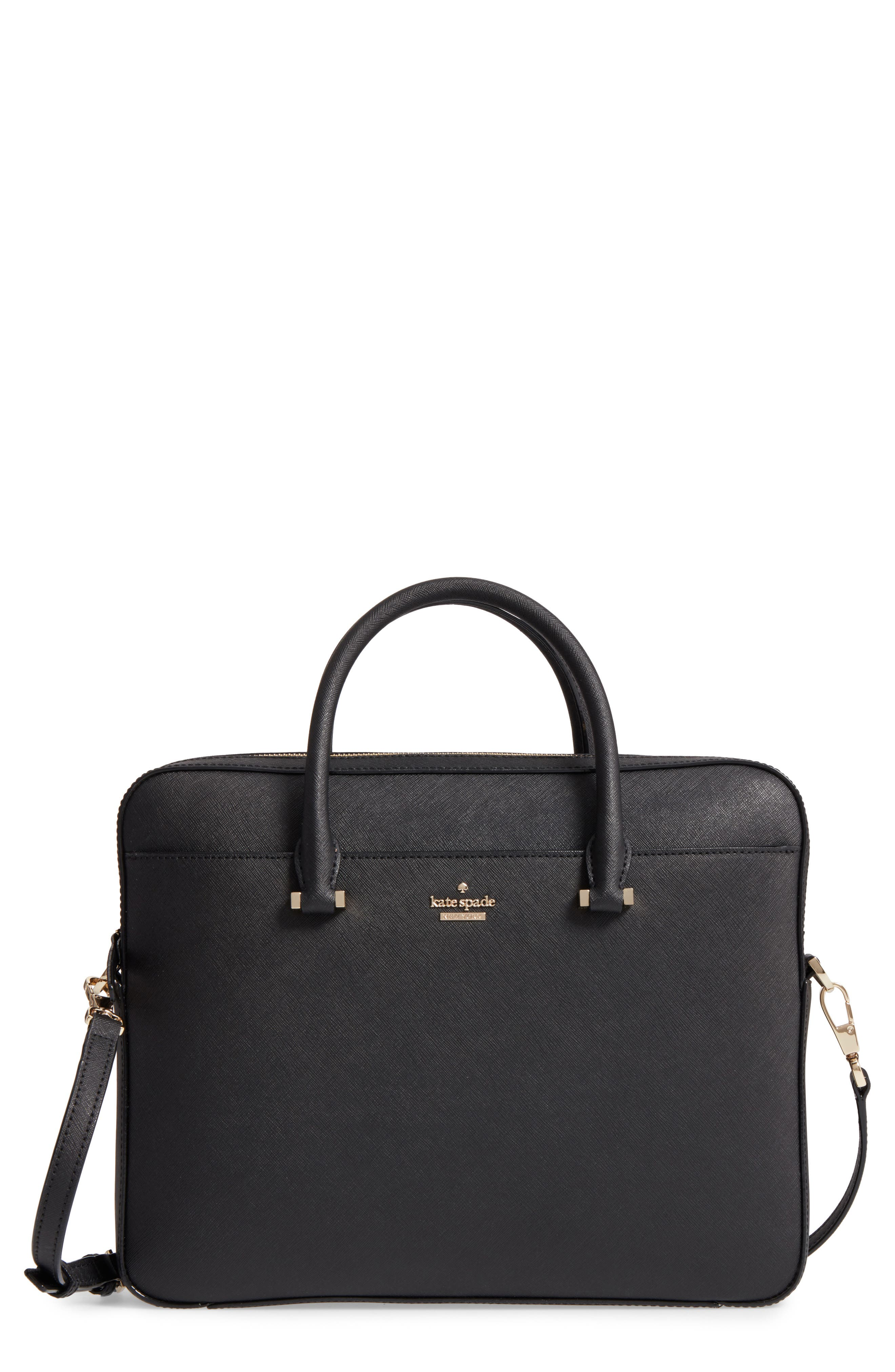 kate spade new york saffiano leather laptop bag