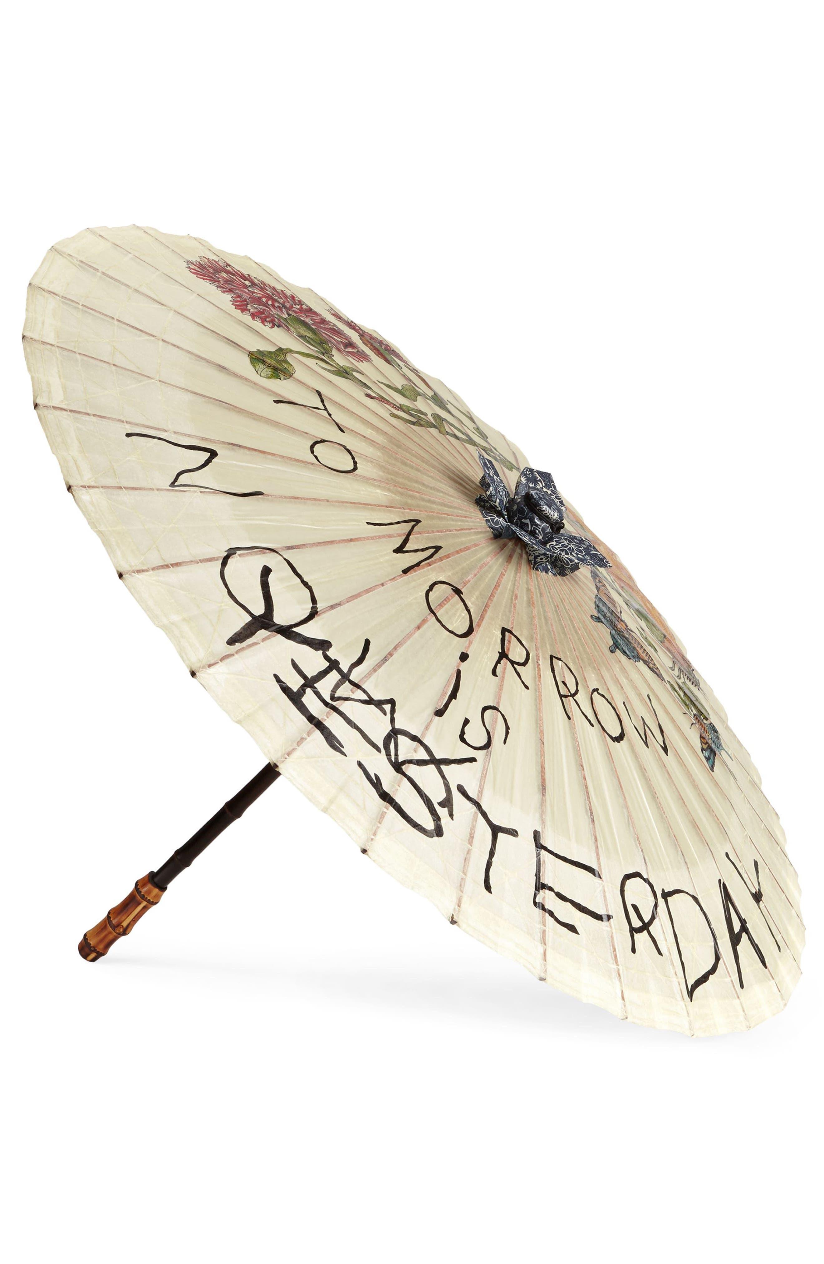 Gucci Para Rosee Paper Parasol