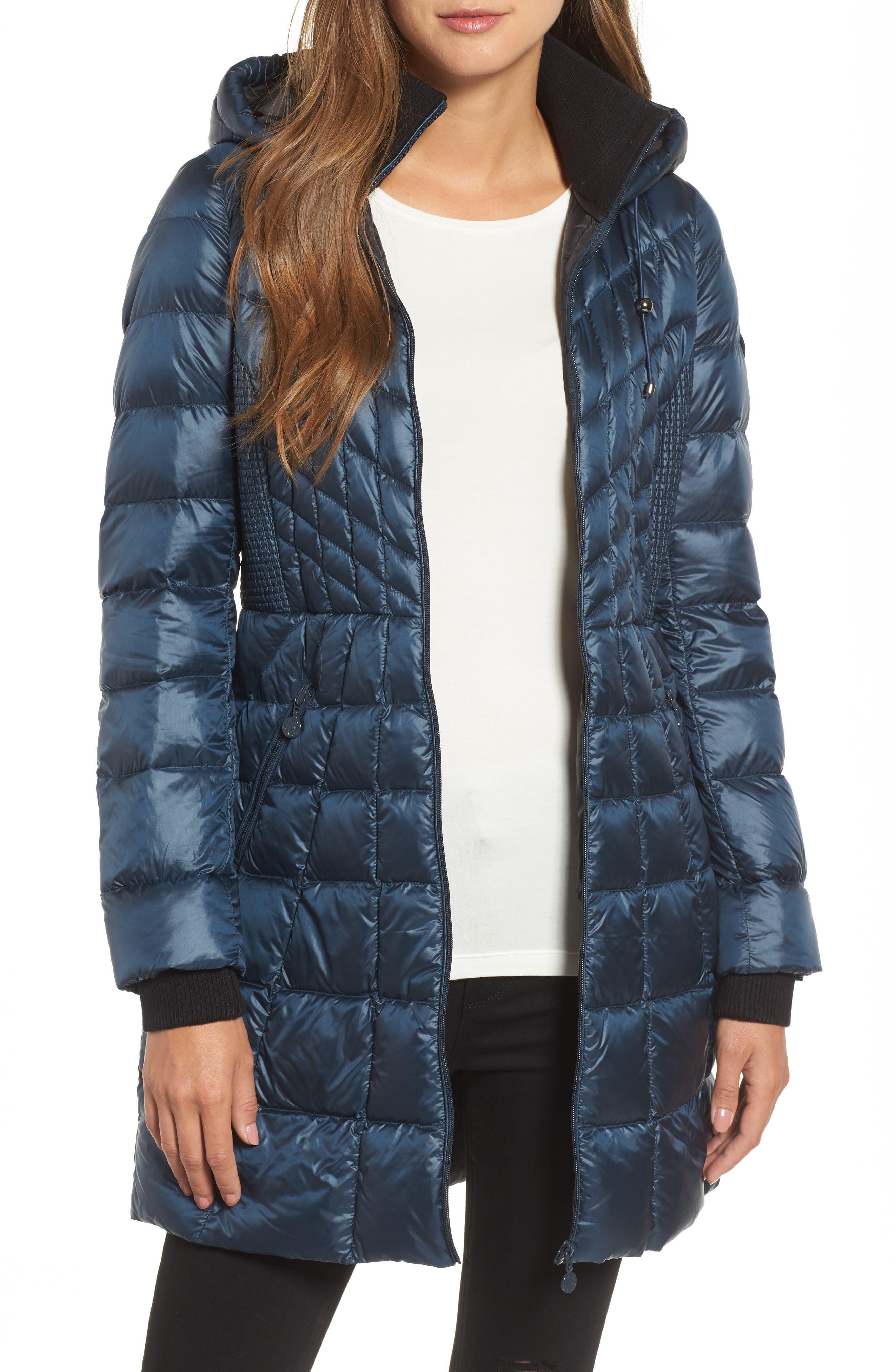 Bernardo Down & PrimaLoft® Coat (Regular & Petite)