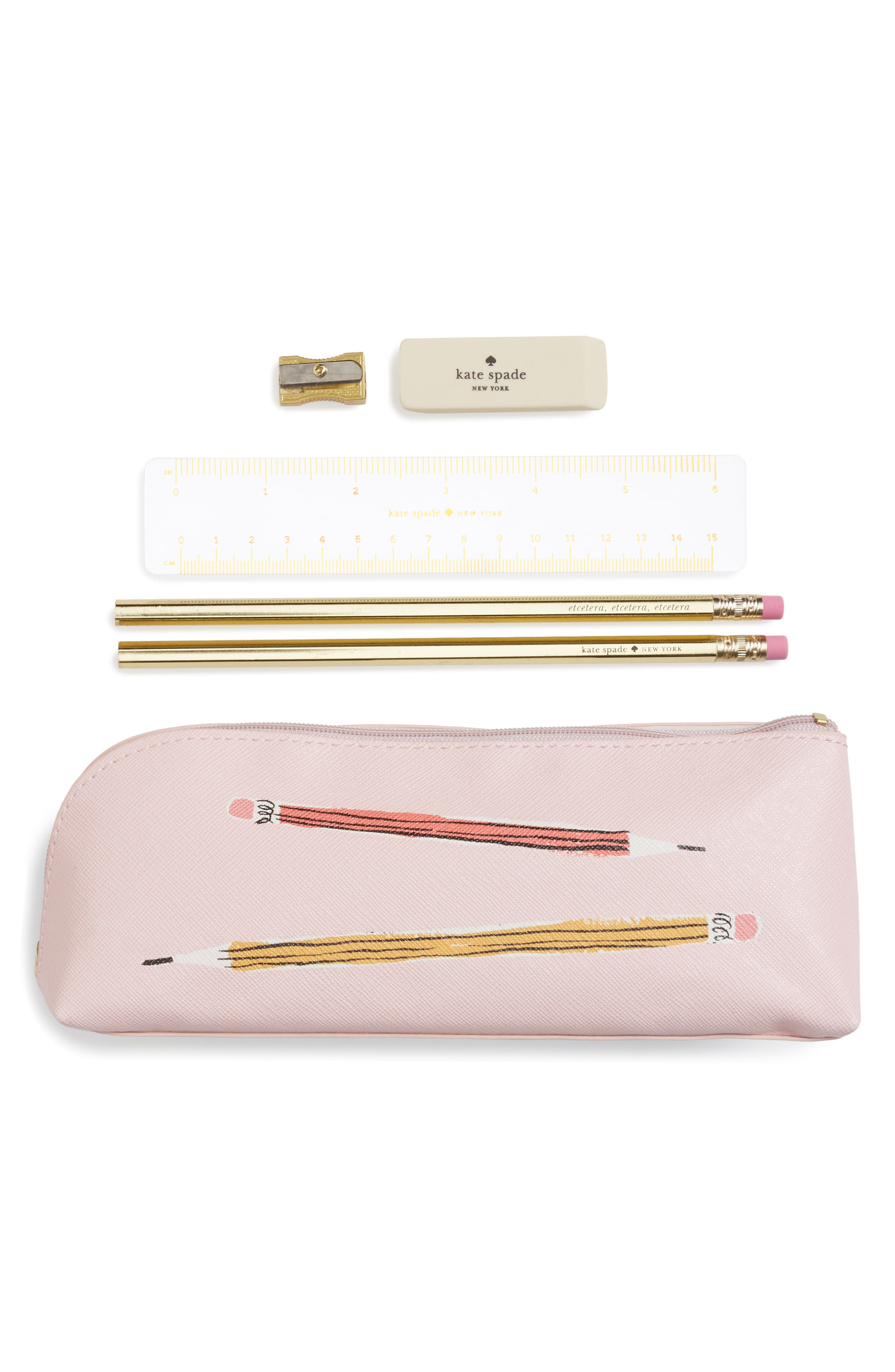 kate spade new york sketch pencil case