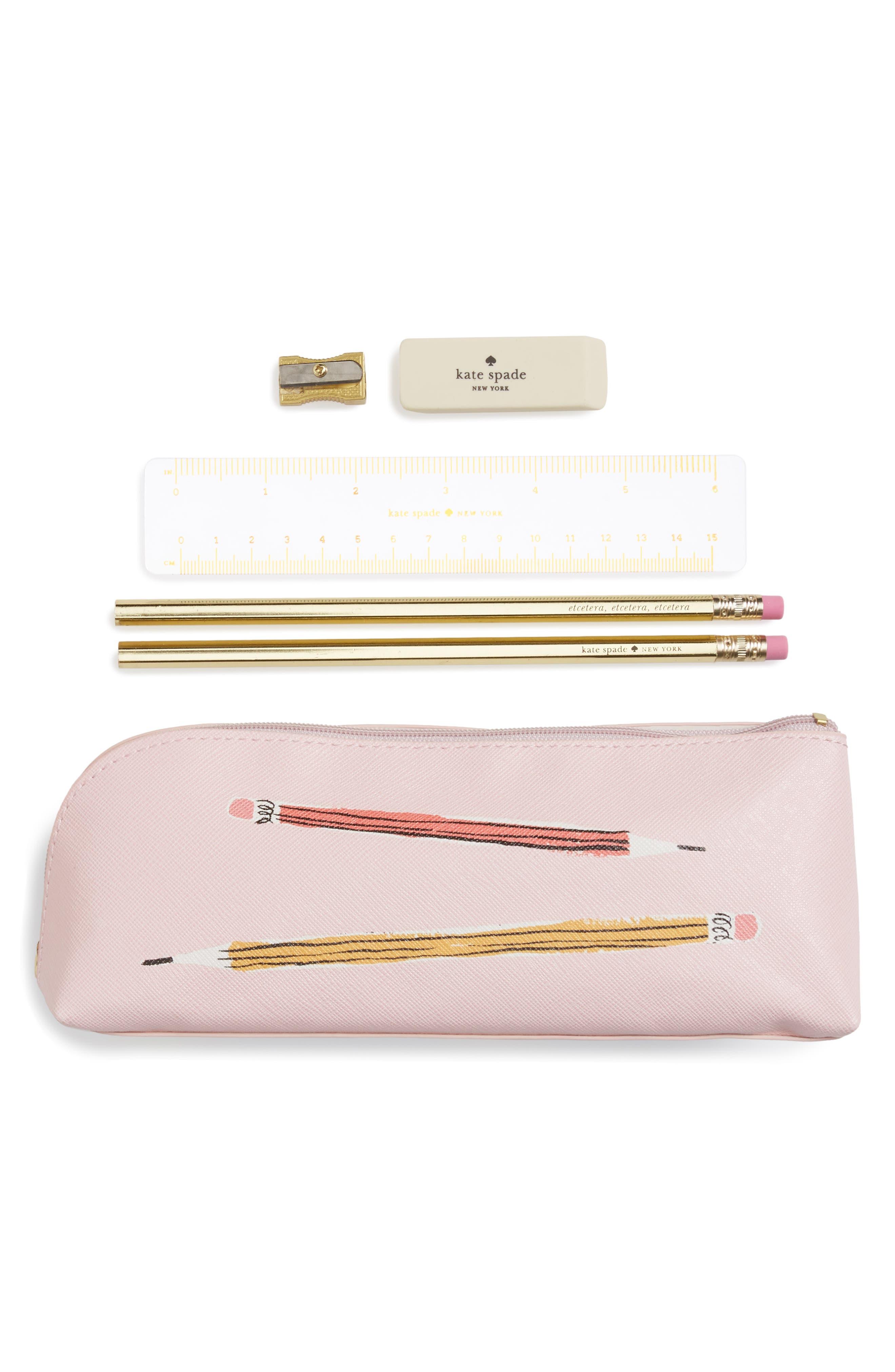 kate spade new york sketch pencil case