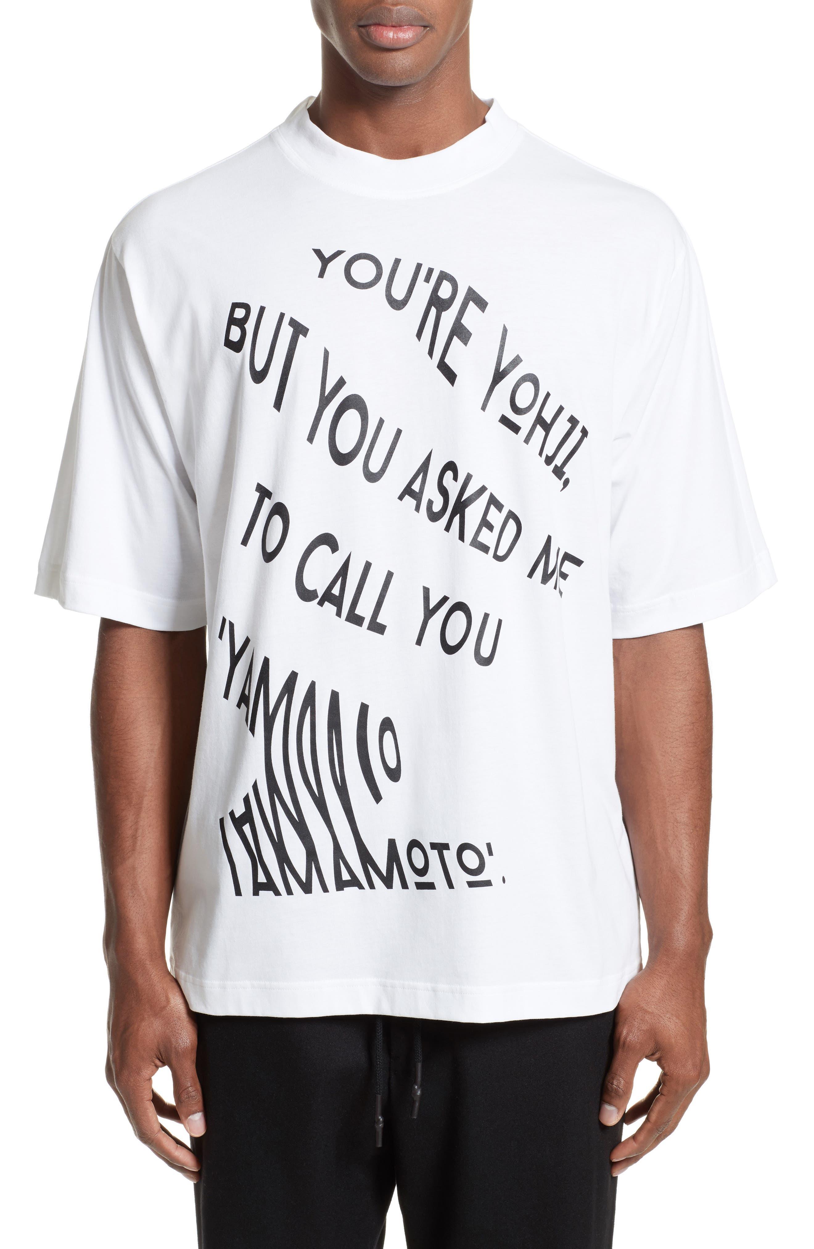 Y-3 Yohji Graphic T-Shirt
