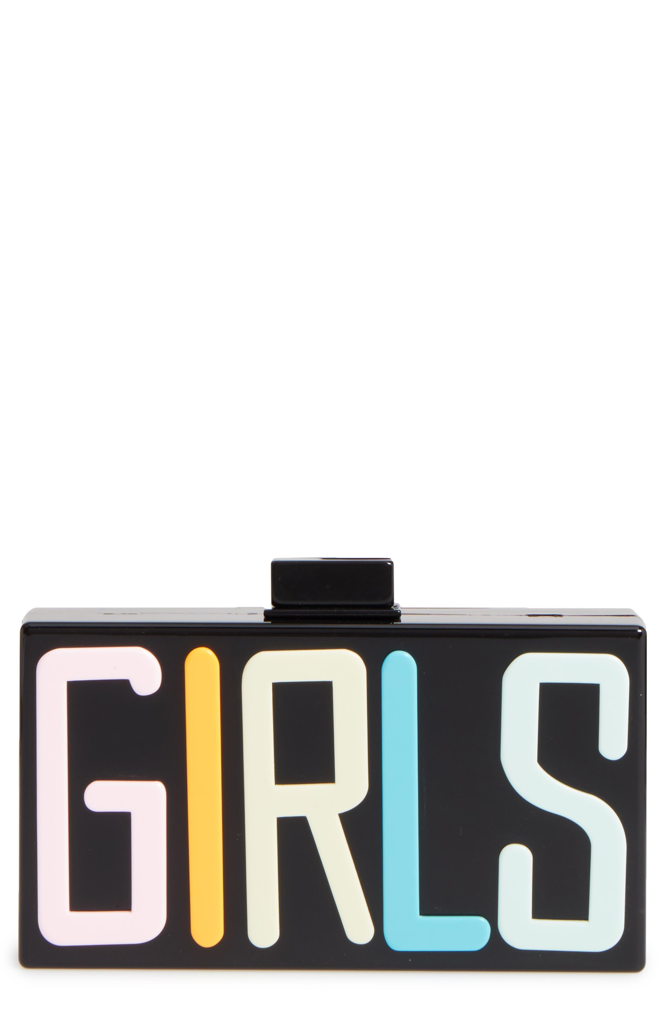 Tasha Girls Box Clutch