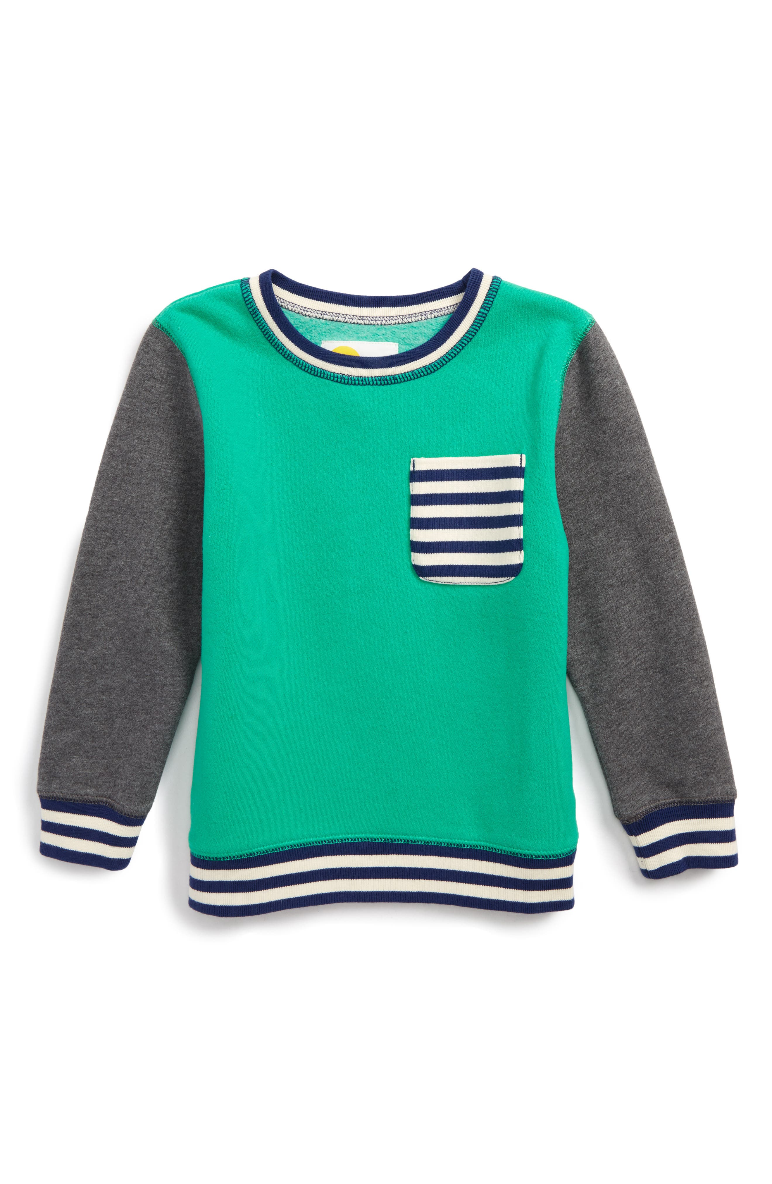 Mini Boden Fun Sweatshirt (Toddler Boys, Little Boys & Big Boys)