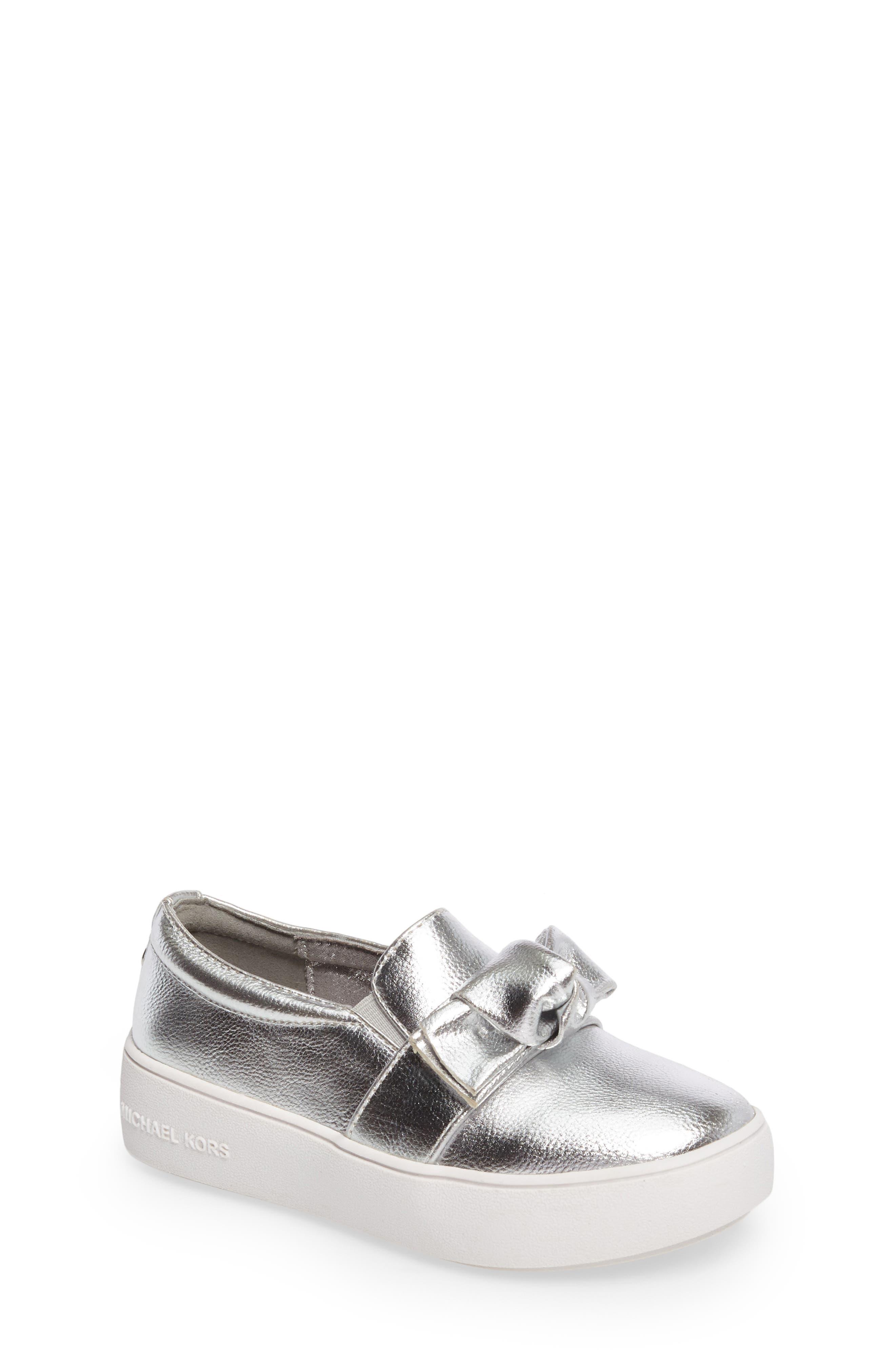 MICHAEL Michael Kors Maven Poppy Knotted Slip-On Sneaker (Walker, Toddler, Little Kid & Big Kid)