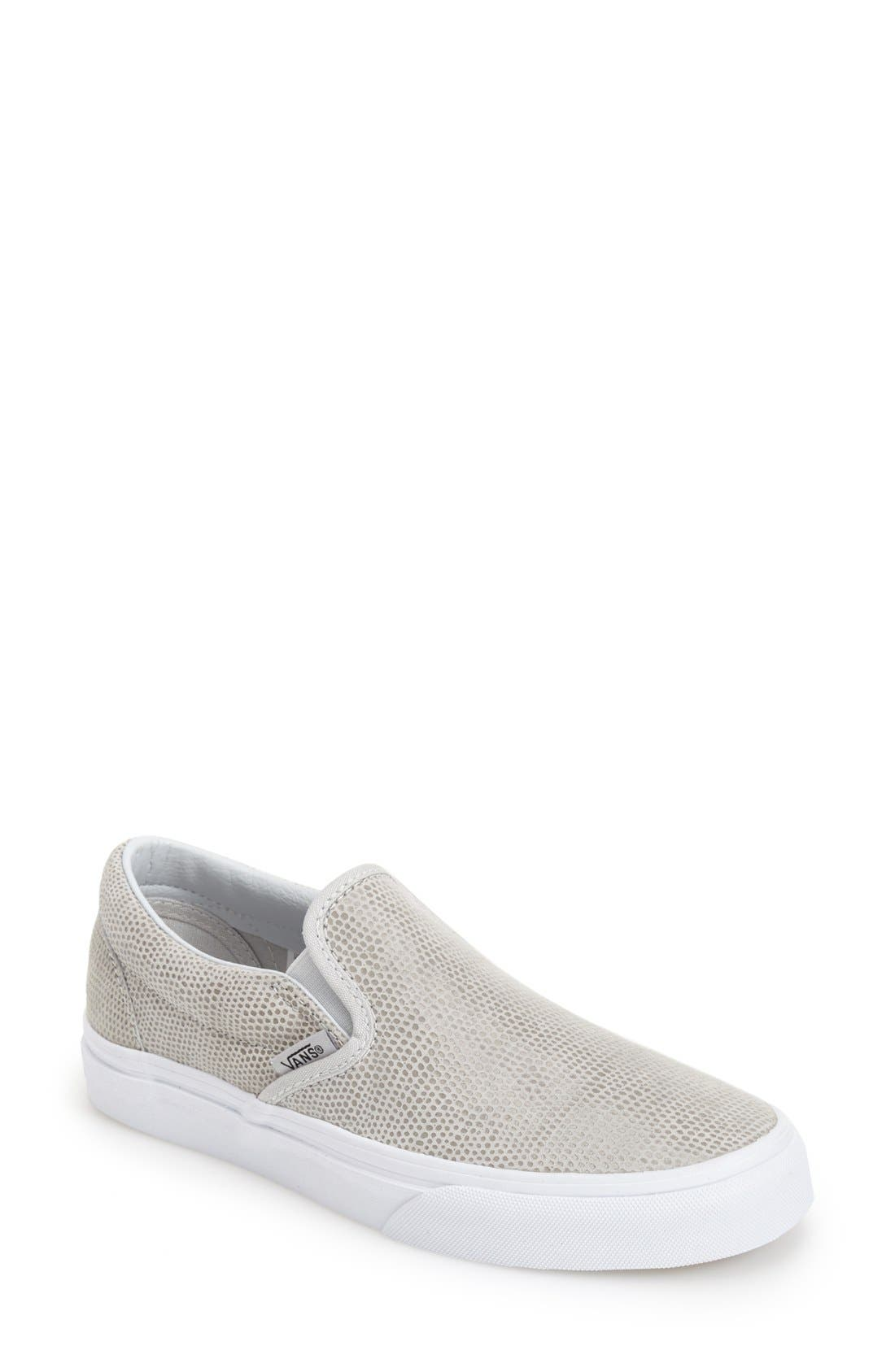 Alternate Image 1 Selected - Vans 'Pebble' Slip-On Sneaker (Women)