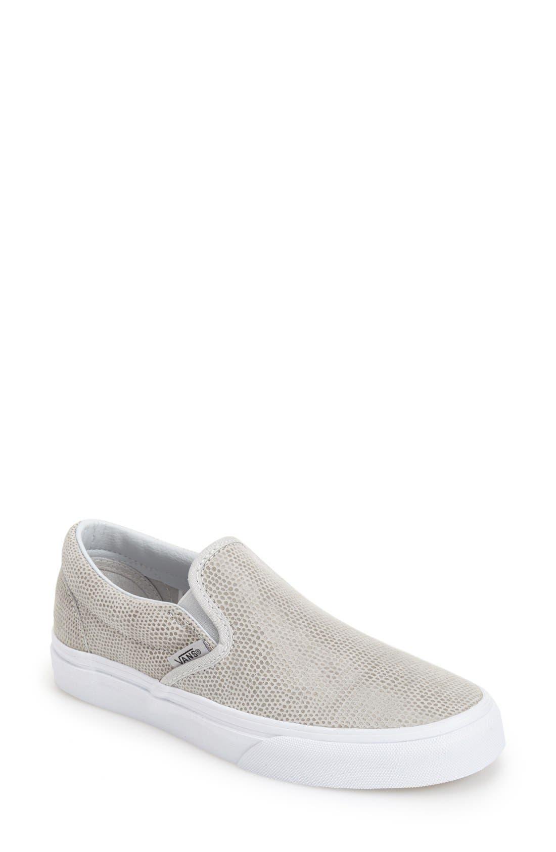 Main Image - Vans 'Pebble' Slip-On Sneaker (Women)