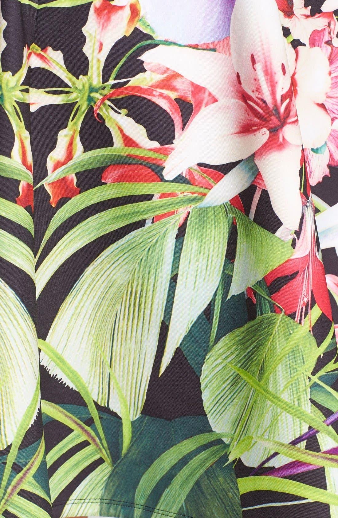 Alternate Image 3  - Ted Baker London 'Hotley' Tropical Print Skirt